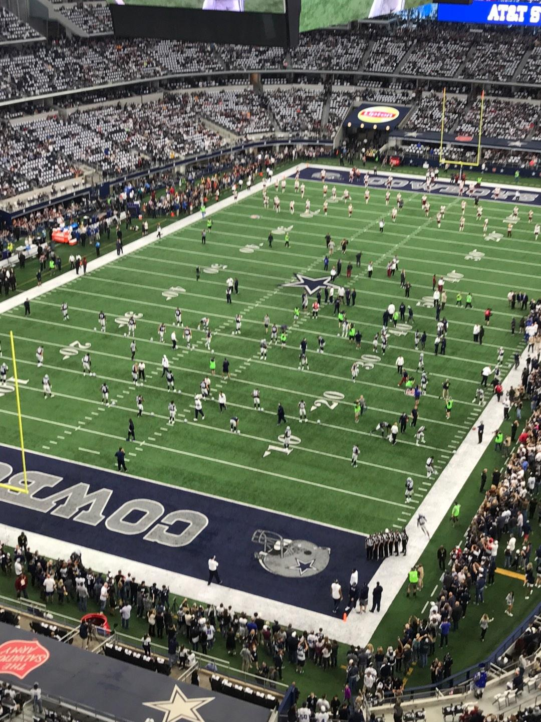 AT&T Stadium Section 423 Row 1 Seat 6