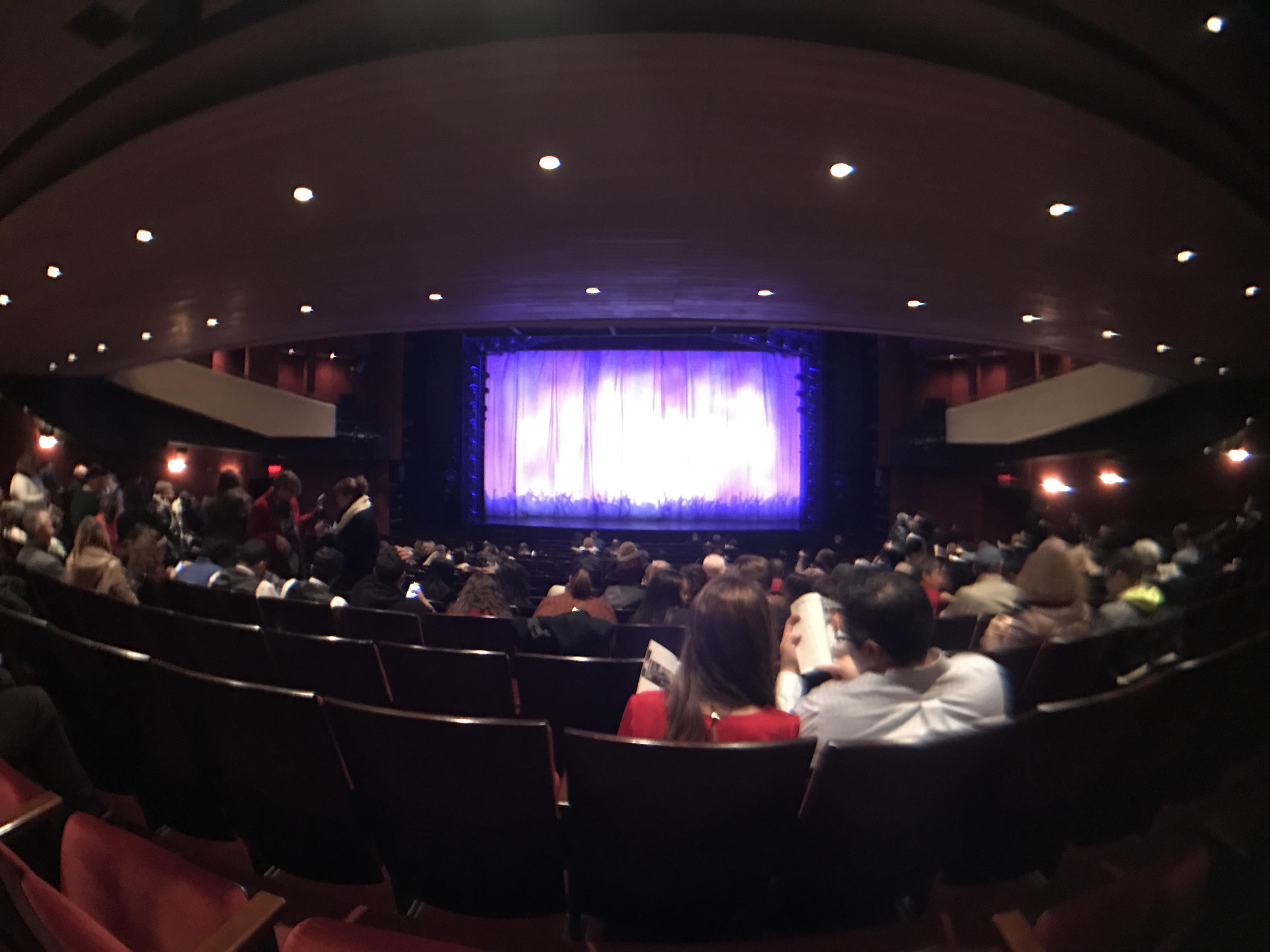 Marquis Theatre Section Orchestra R Row V Seat 114