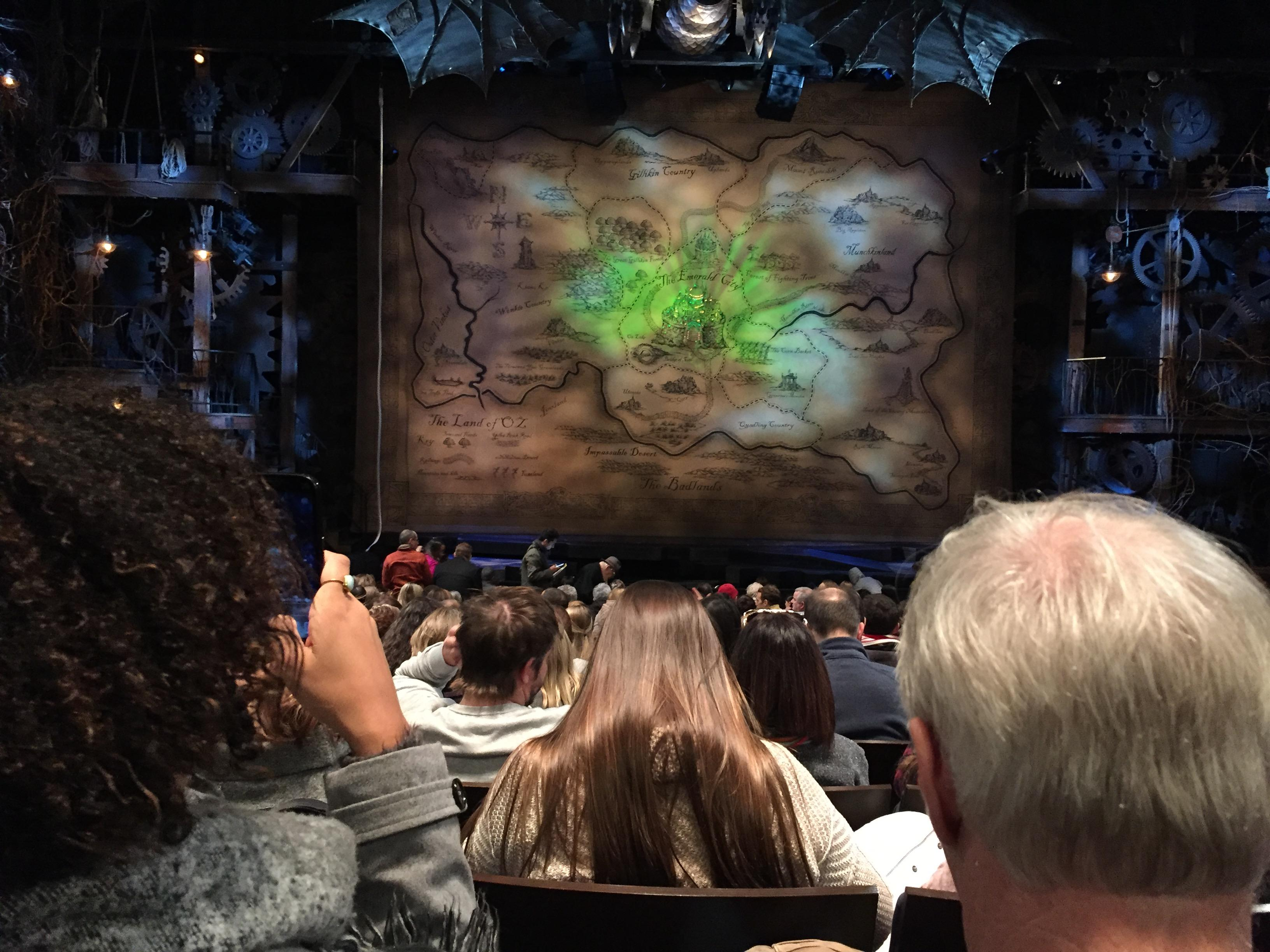 Gershwin Theatre Section Orchestra C Row N Seat 108