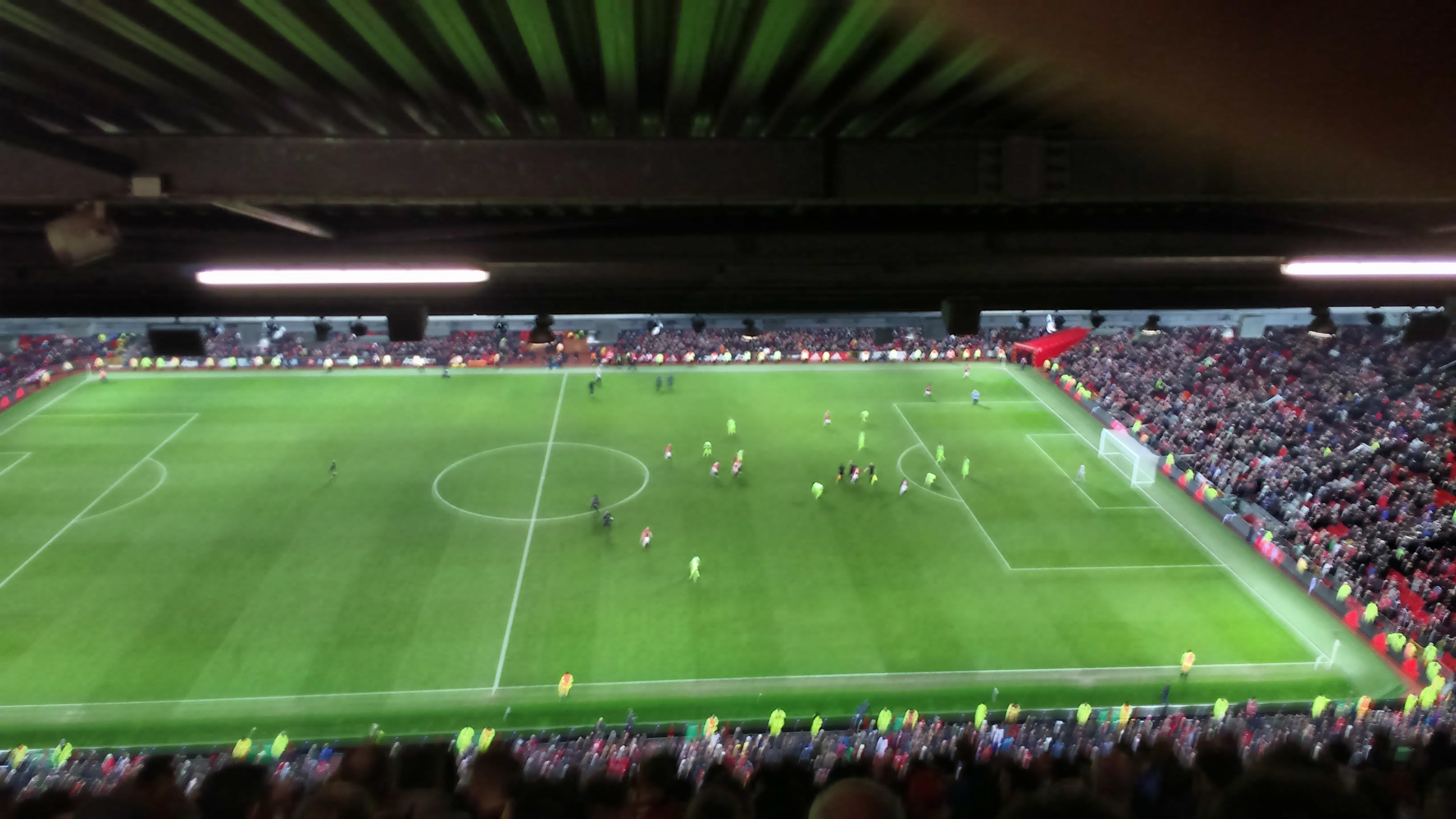 Old Trafford Section N4405 Row 19