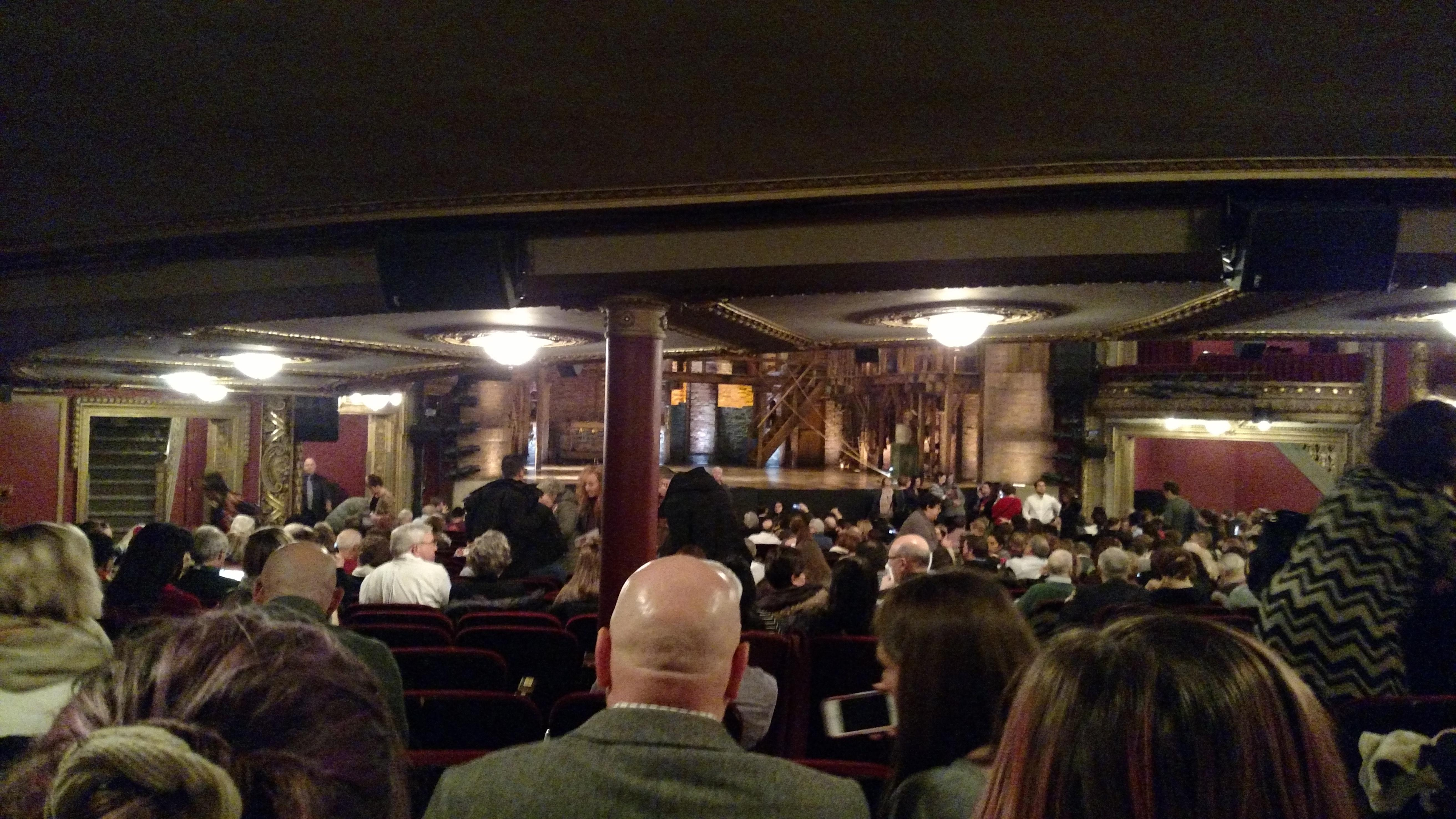 CIBC Theatre Row ZZ Seat 05