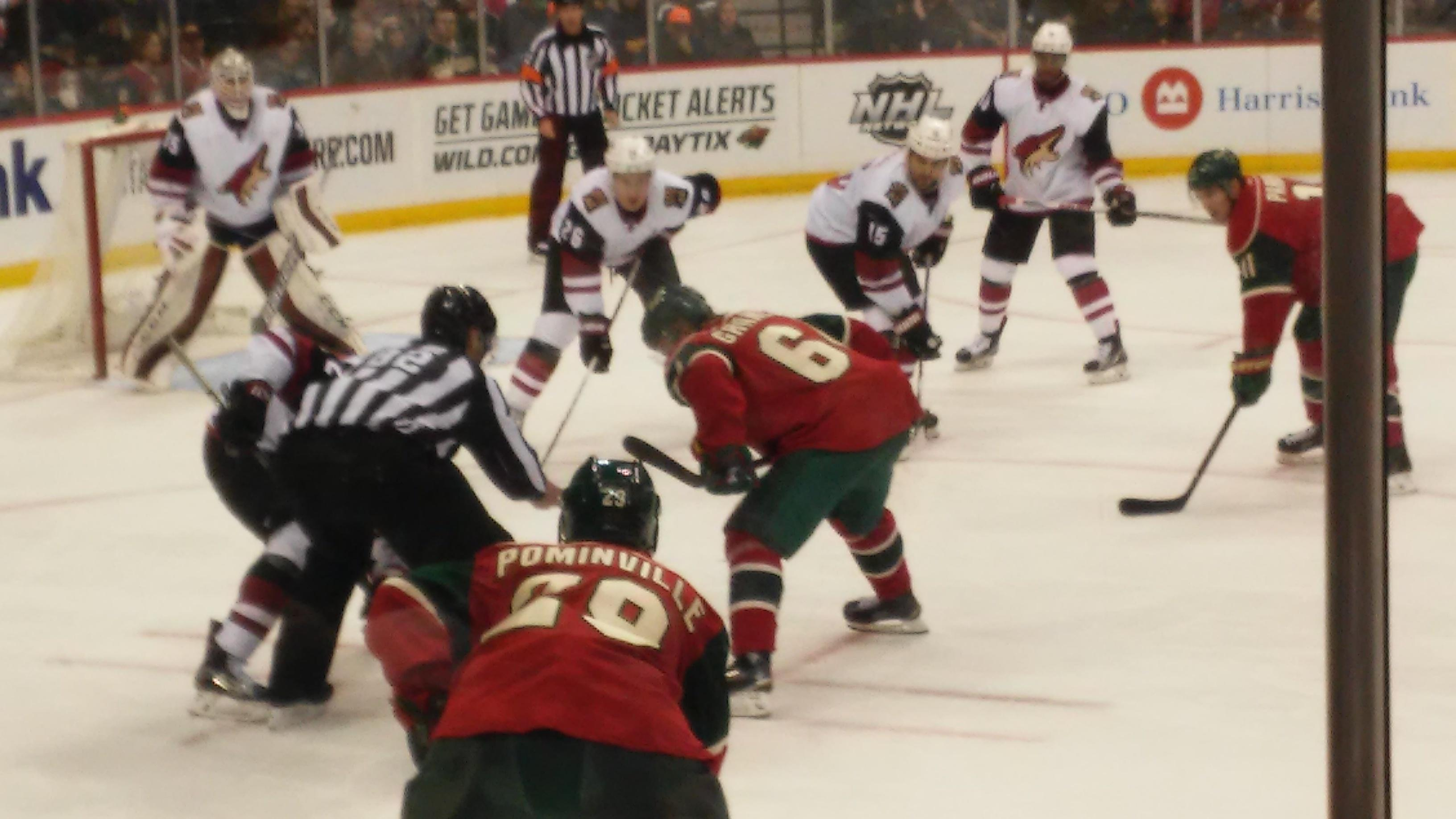 Xcel Energy Center Section 118 Row 5 Seat 5