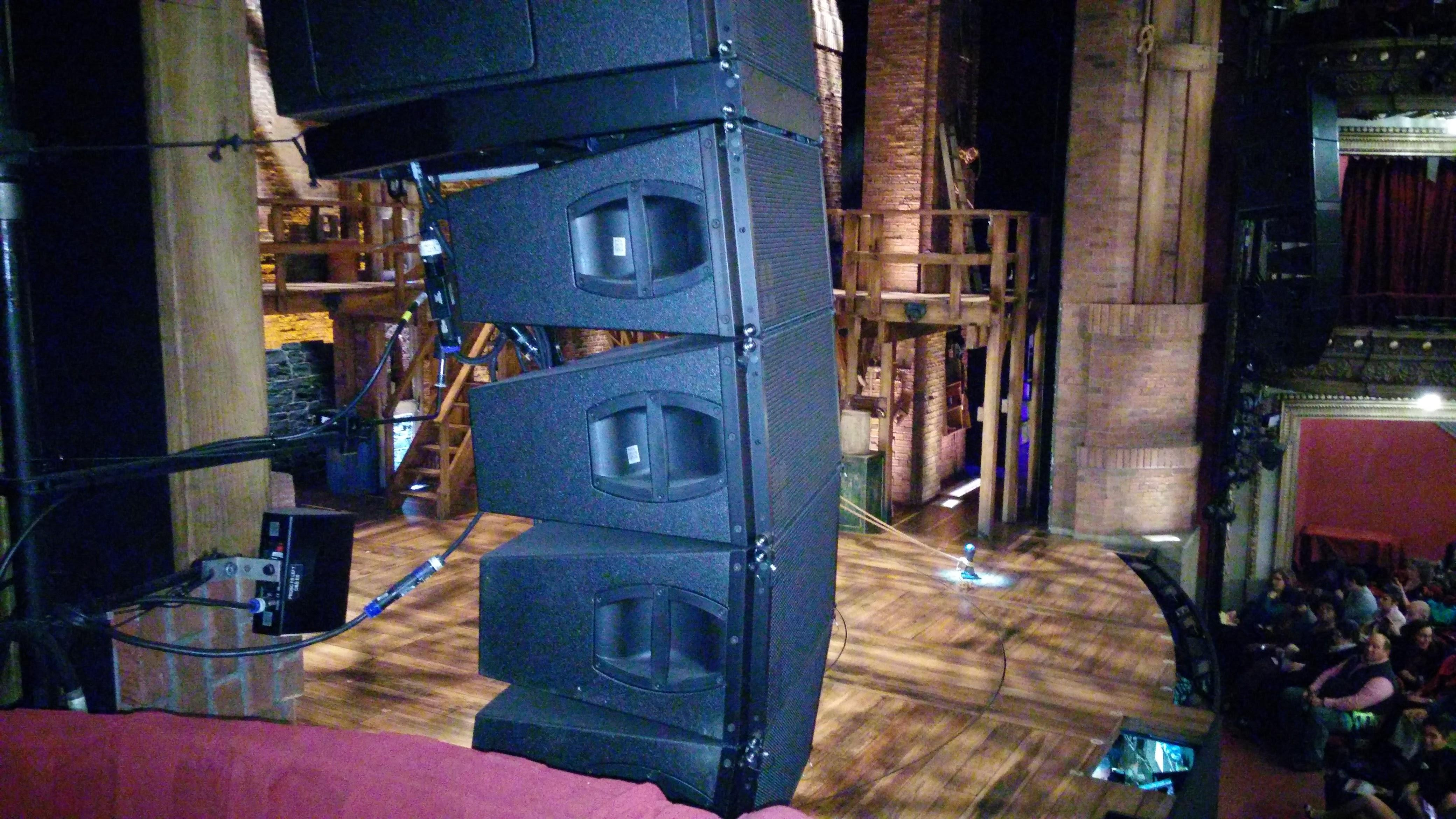 CIBC Theatre Section Dress Circle Box 3 Row A Seat 3