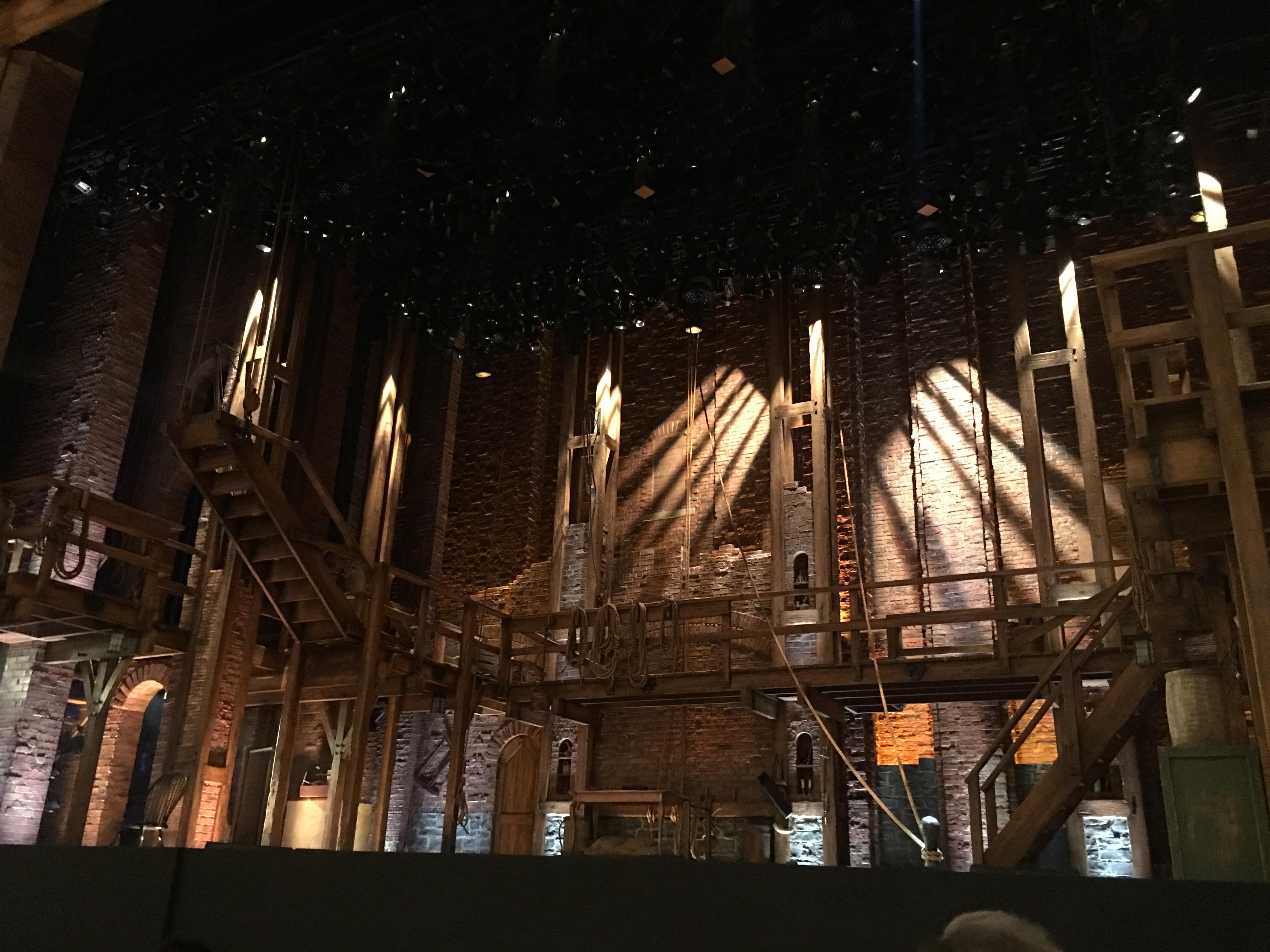 CIBC Theatre Section Orchestra R Row E Seat 2