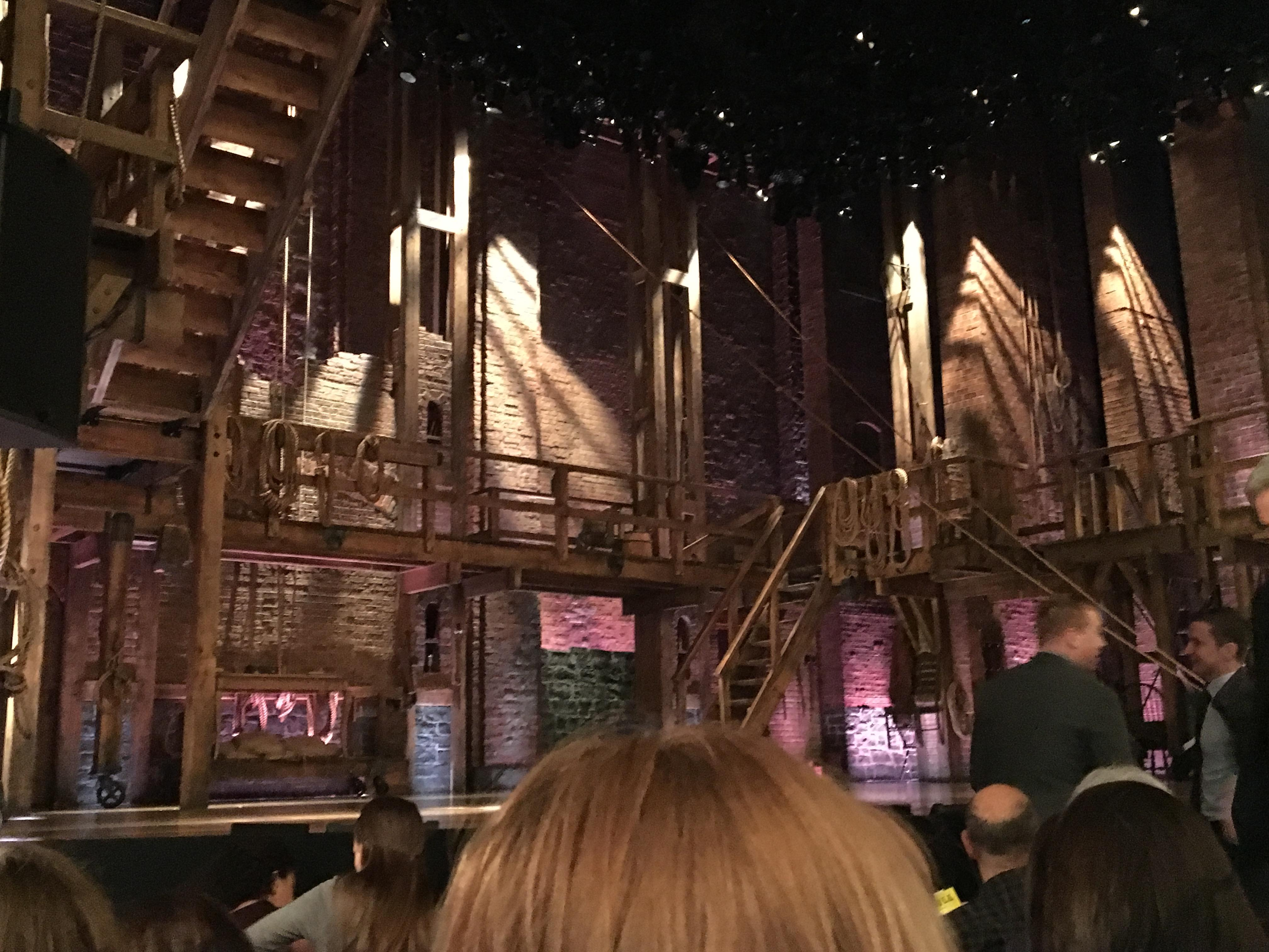 Richard Rodgers Theatre Section Orchestra Left Row E Seat 13