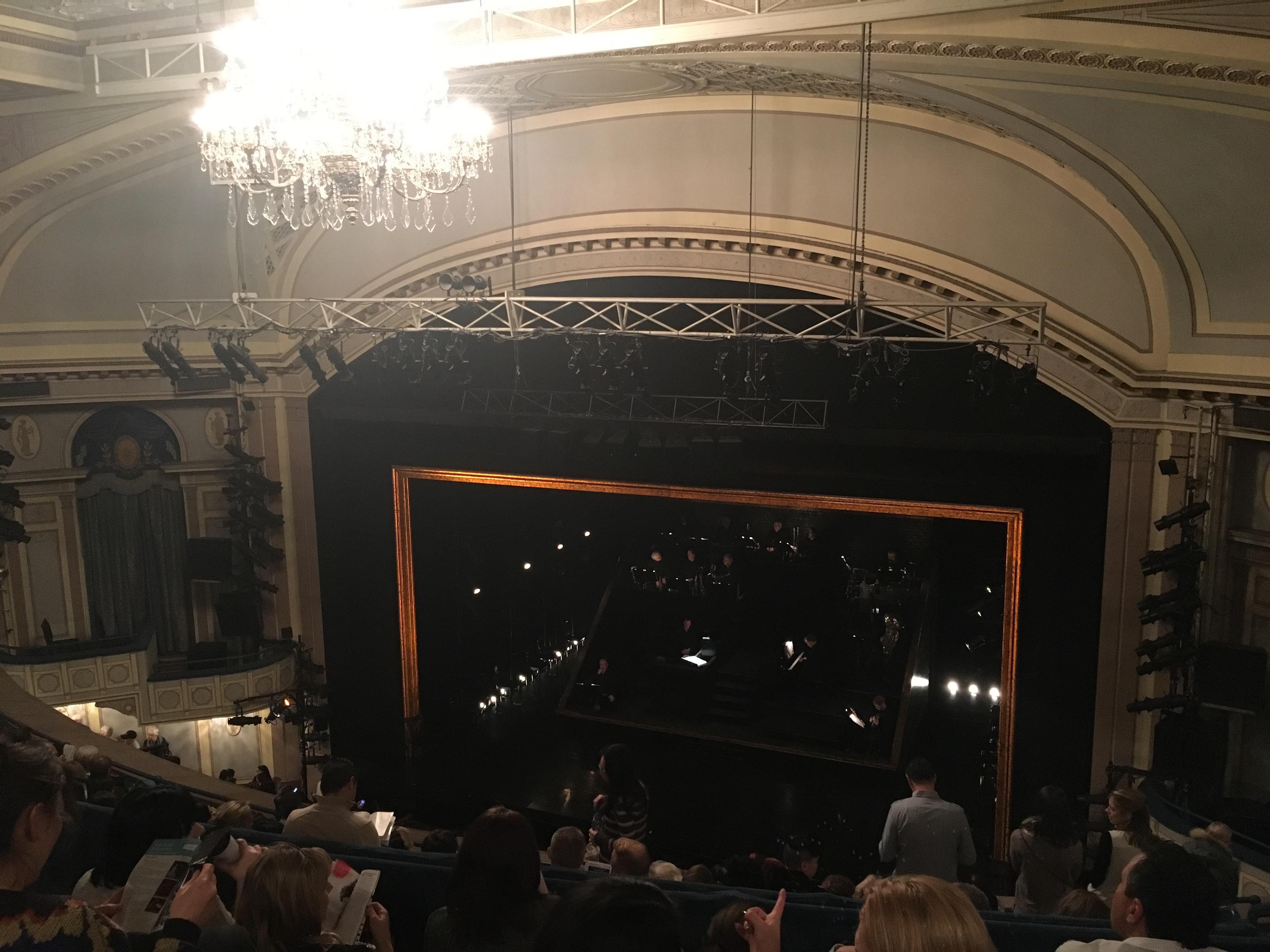 Ambassador Theatre Section Rear Mezzanine Row D Seat 8