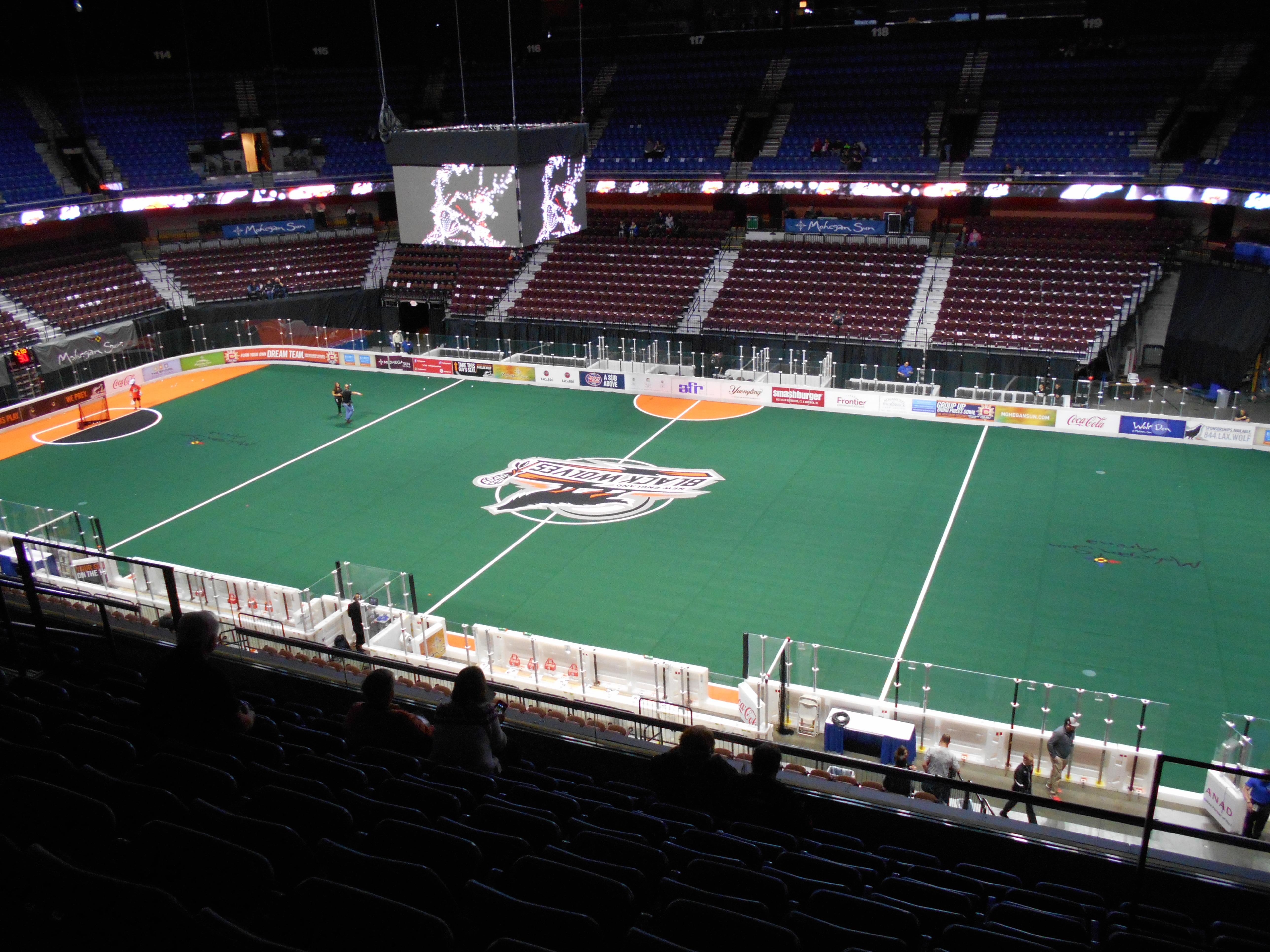 Mohegan Sun Arena Section 105 Row H Seat 8