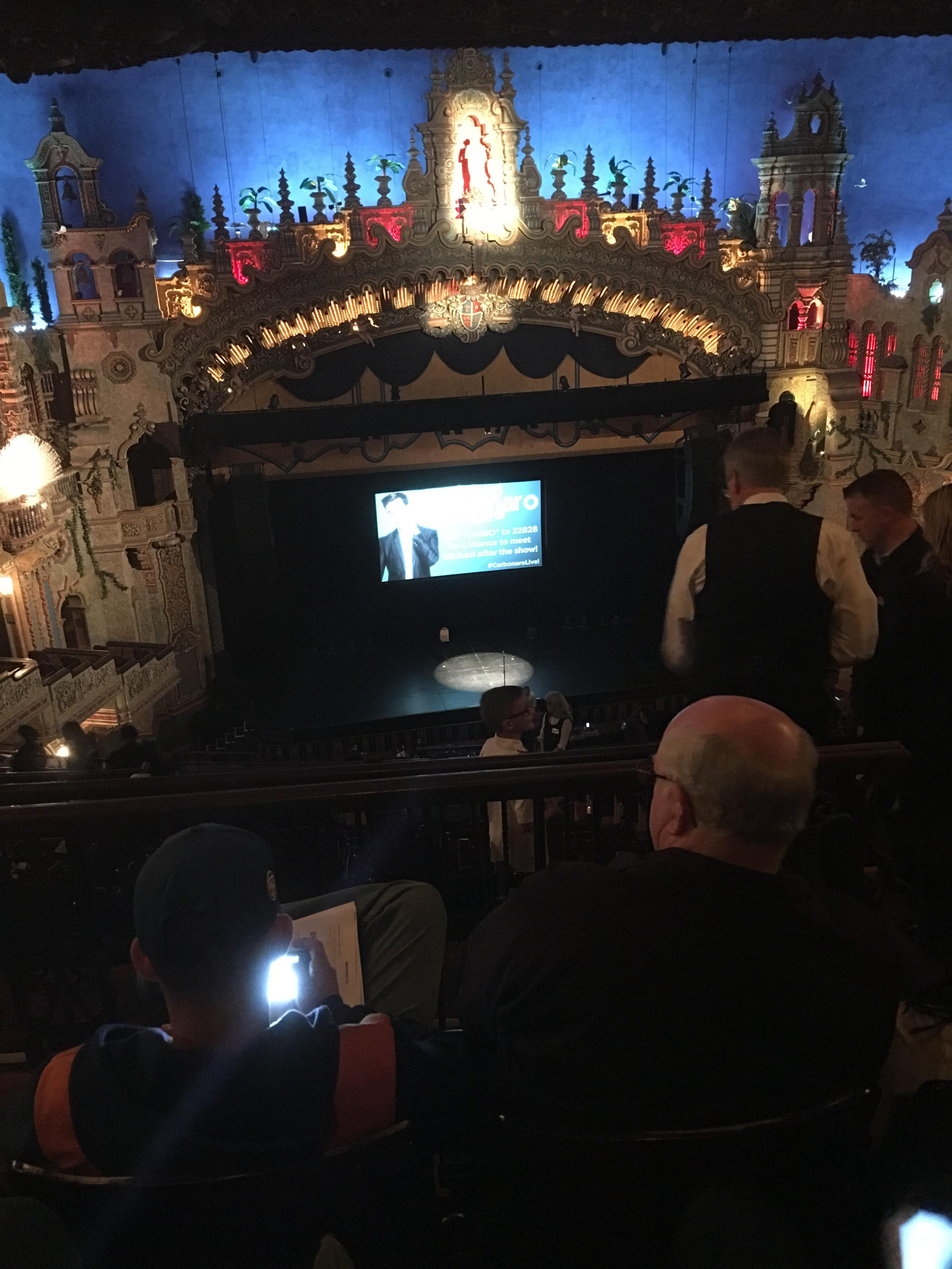 Majestic Theatre - San Antonio Section Balcony LC Row Mm Seat 3