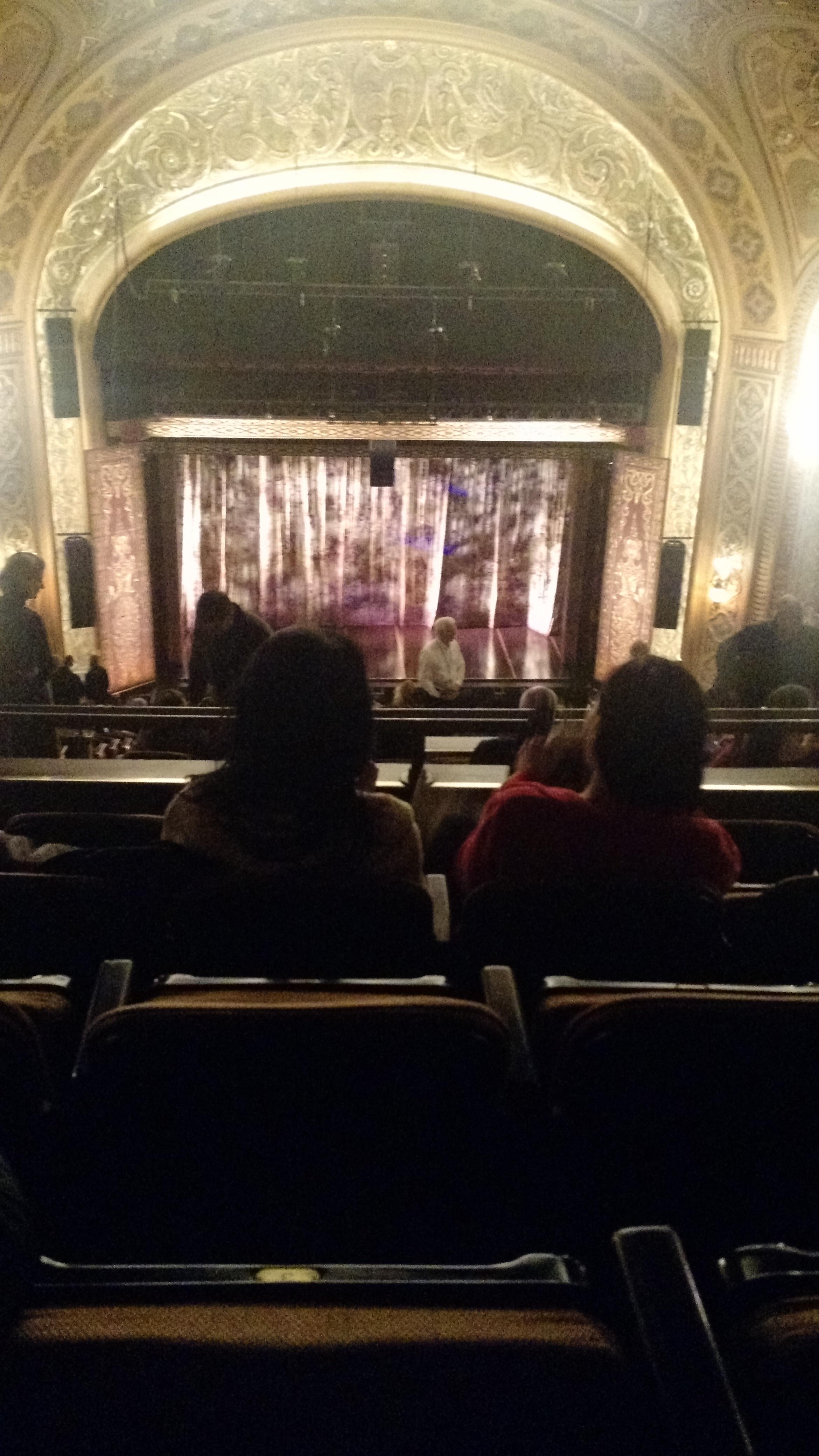 Paramount Theatre (Seattle) Section Mezzanine 33 Row W Seat 3