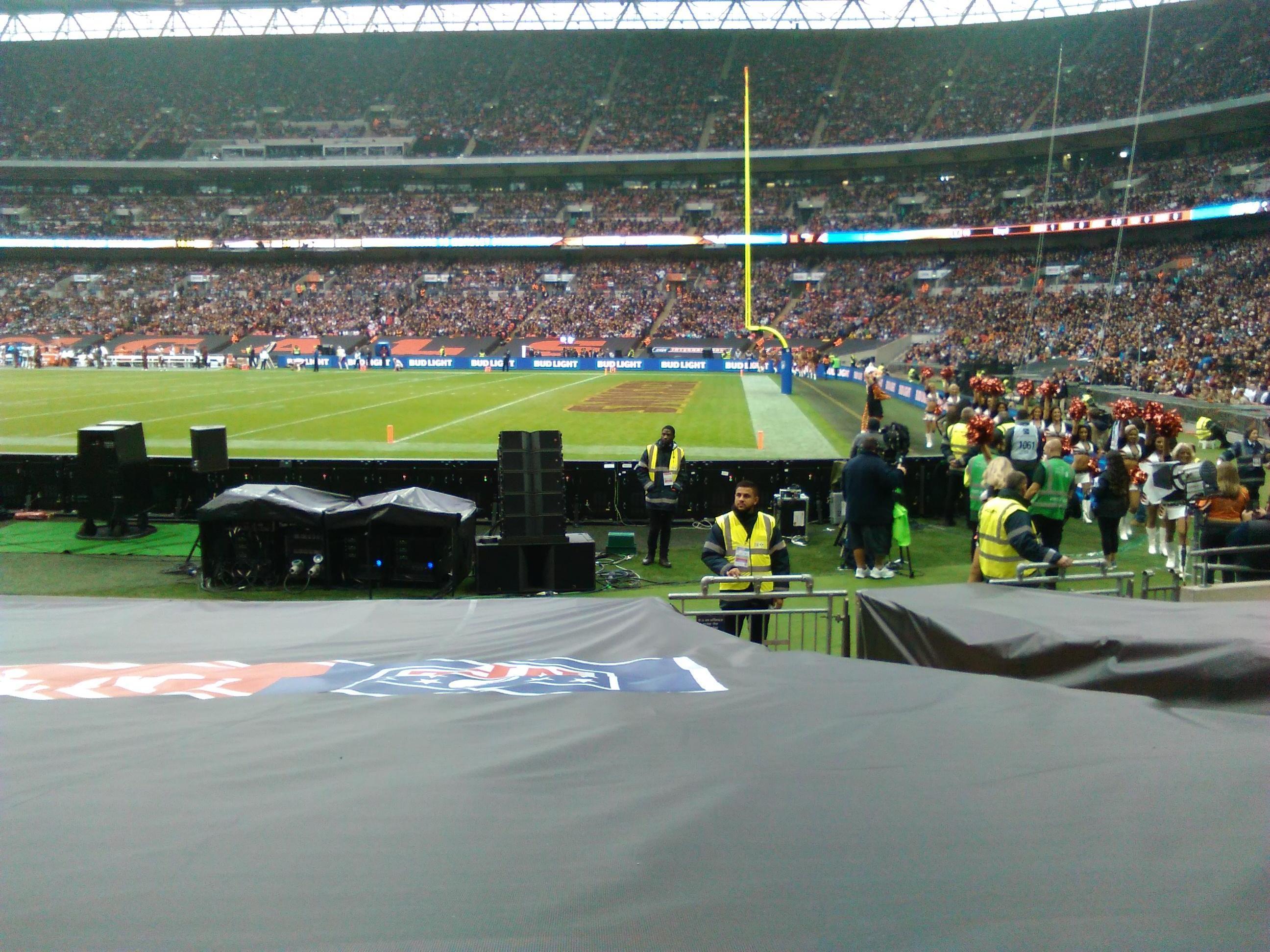 Wembley Stadium Section 140 Row 11 Seat 202