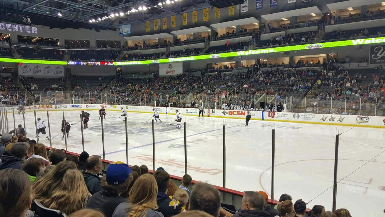 Huntington Center Section 116 Row h Seat 2