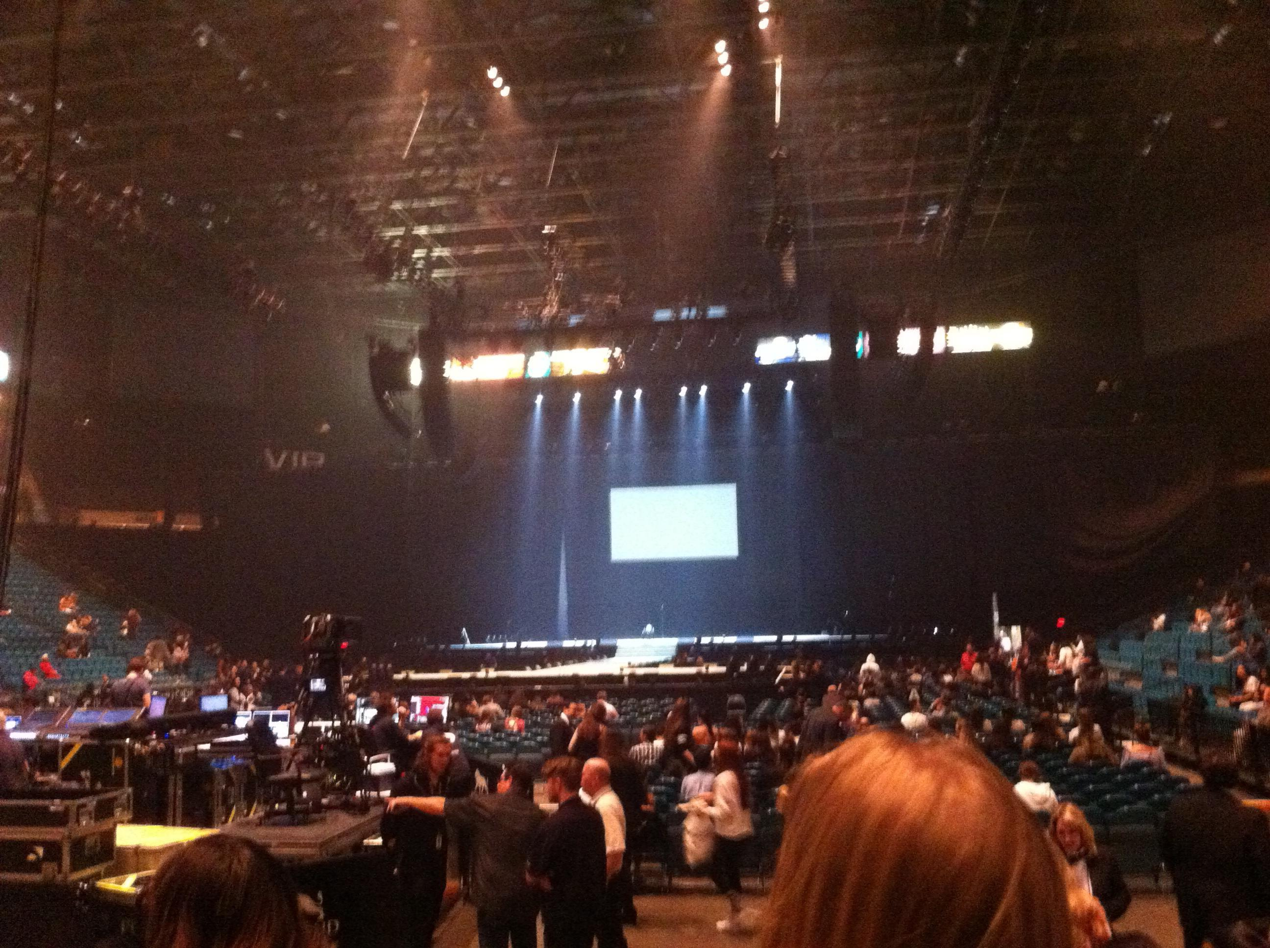 MGM Grand Garden Arena Section 2 Row F Seat 5