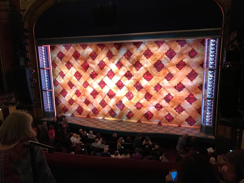 Brooks Atkinson Theatre Section Front Mezzanine R Row C Seat 2