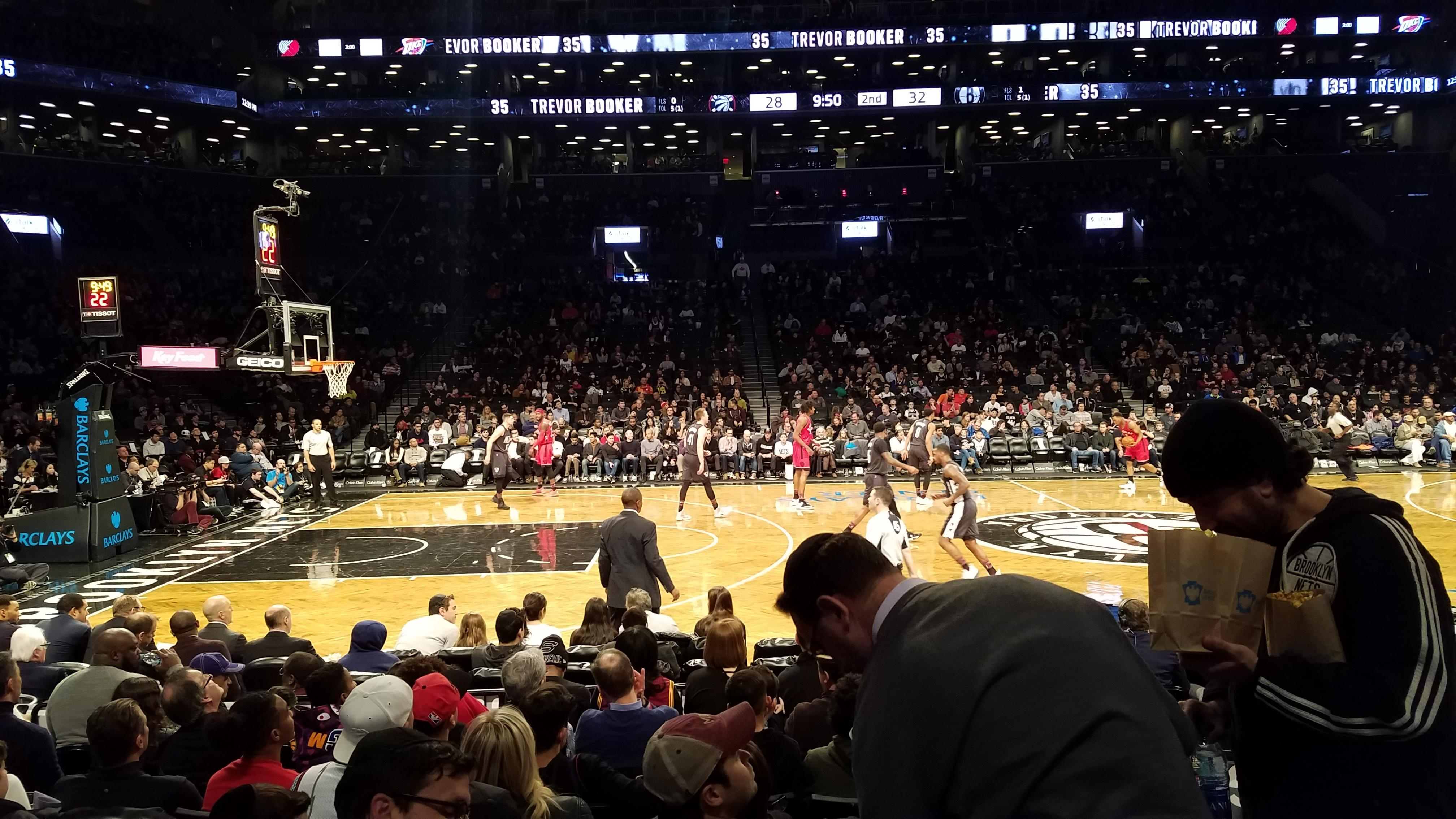 Barclays Center Section 9 Row 6 Seat 2