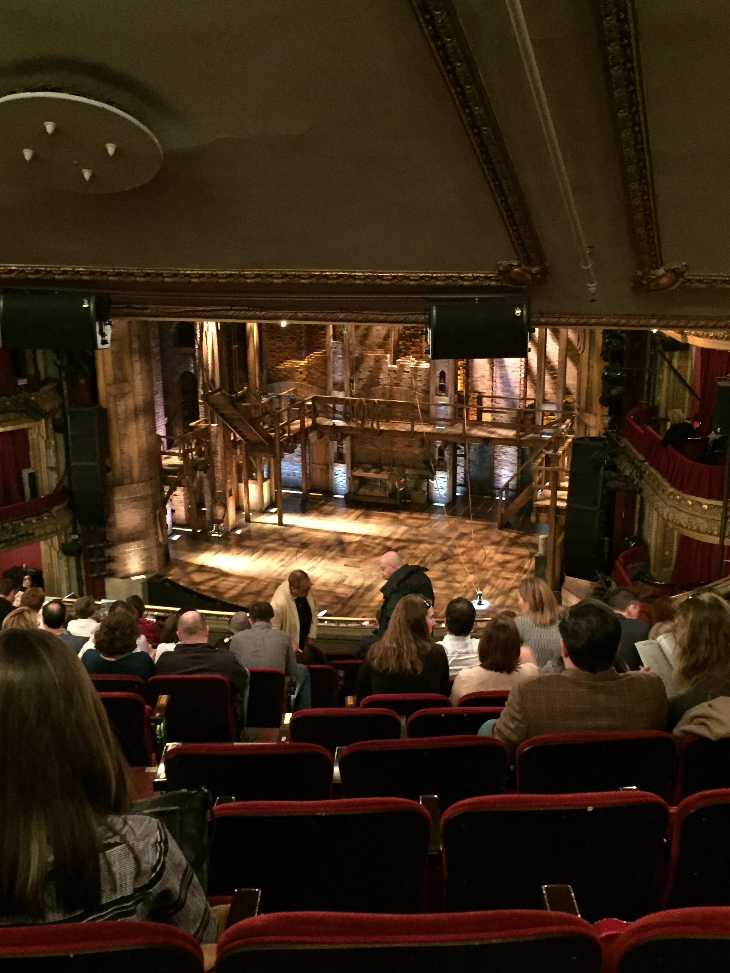 CIBC Theatre Section Mezzanine R Row M Seat 8