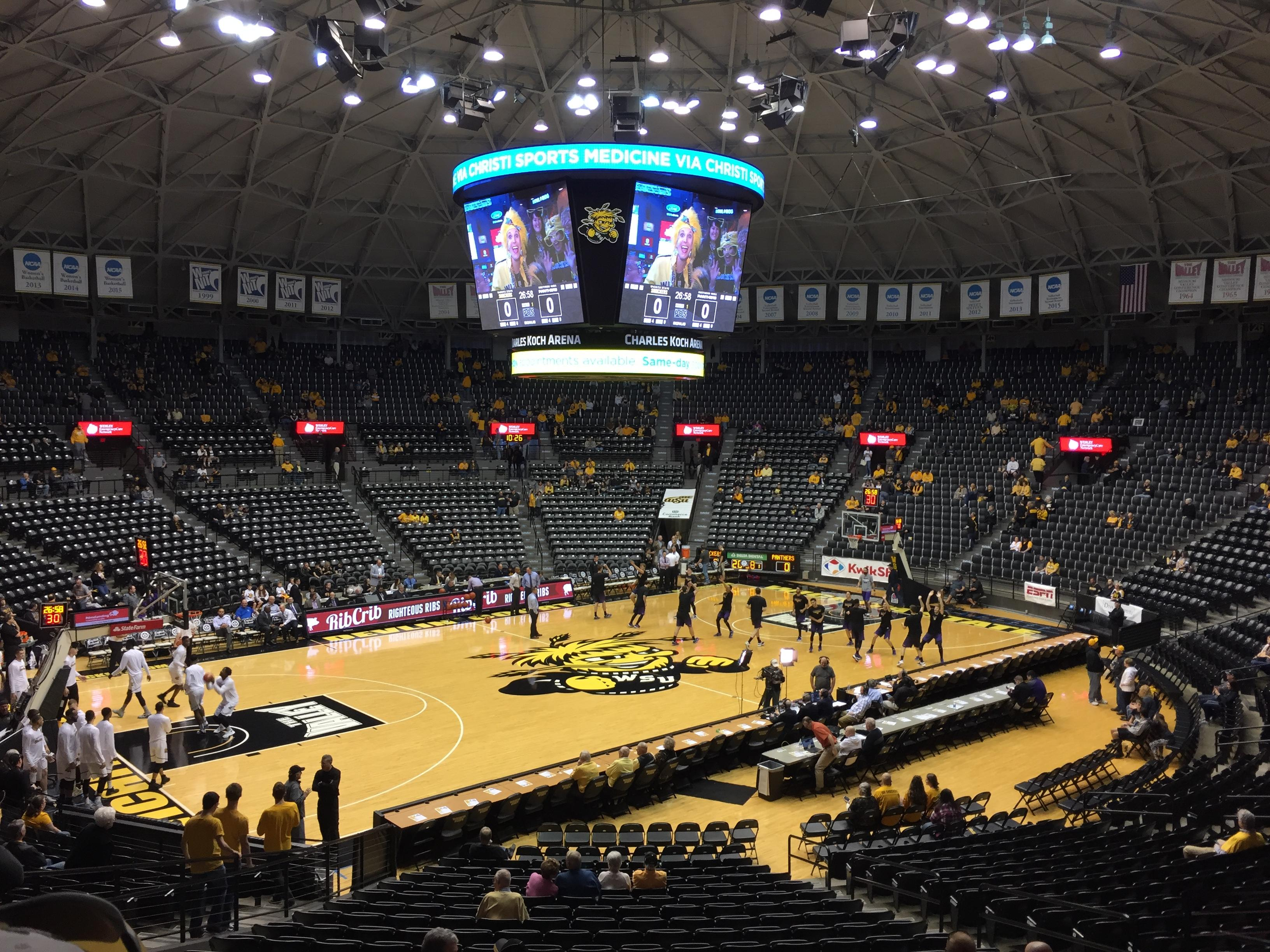 Charles Koch Arena Section 112 Row 23 Seat 7