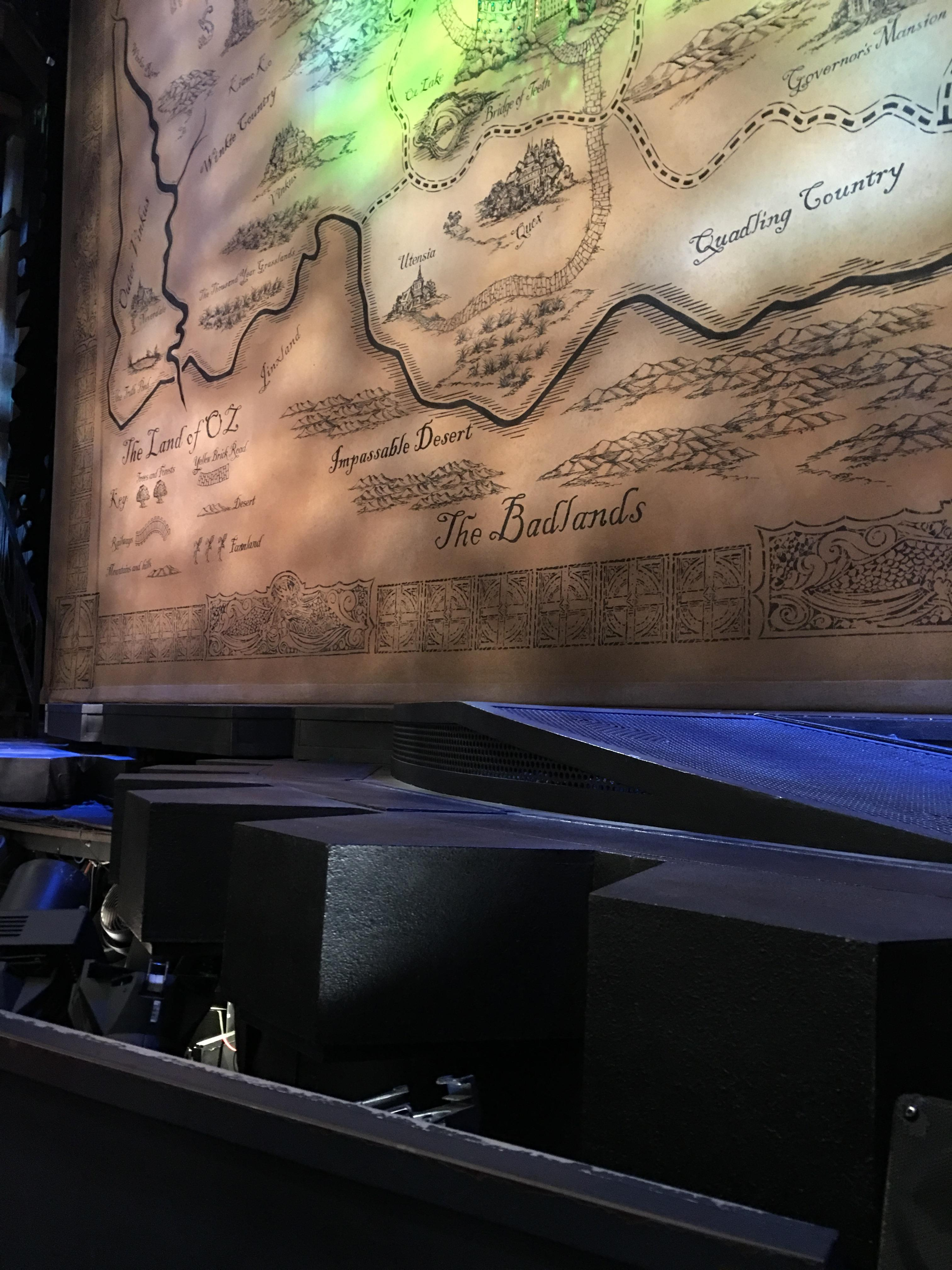 Gershwin Theatre Section Orchestra C Row BB Seat 116