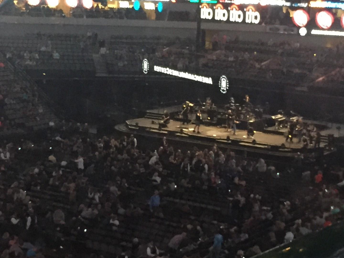 American Airlines Center Section 213 Row A Seat 1
