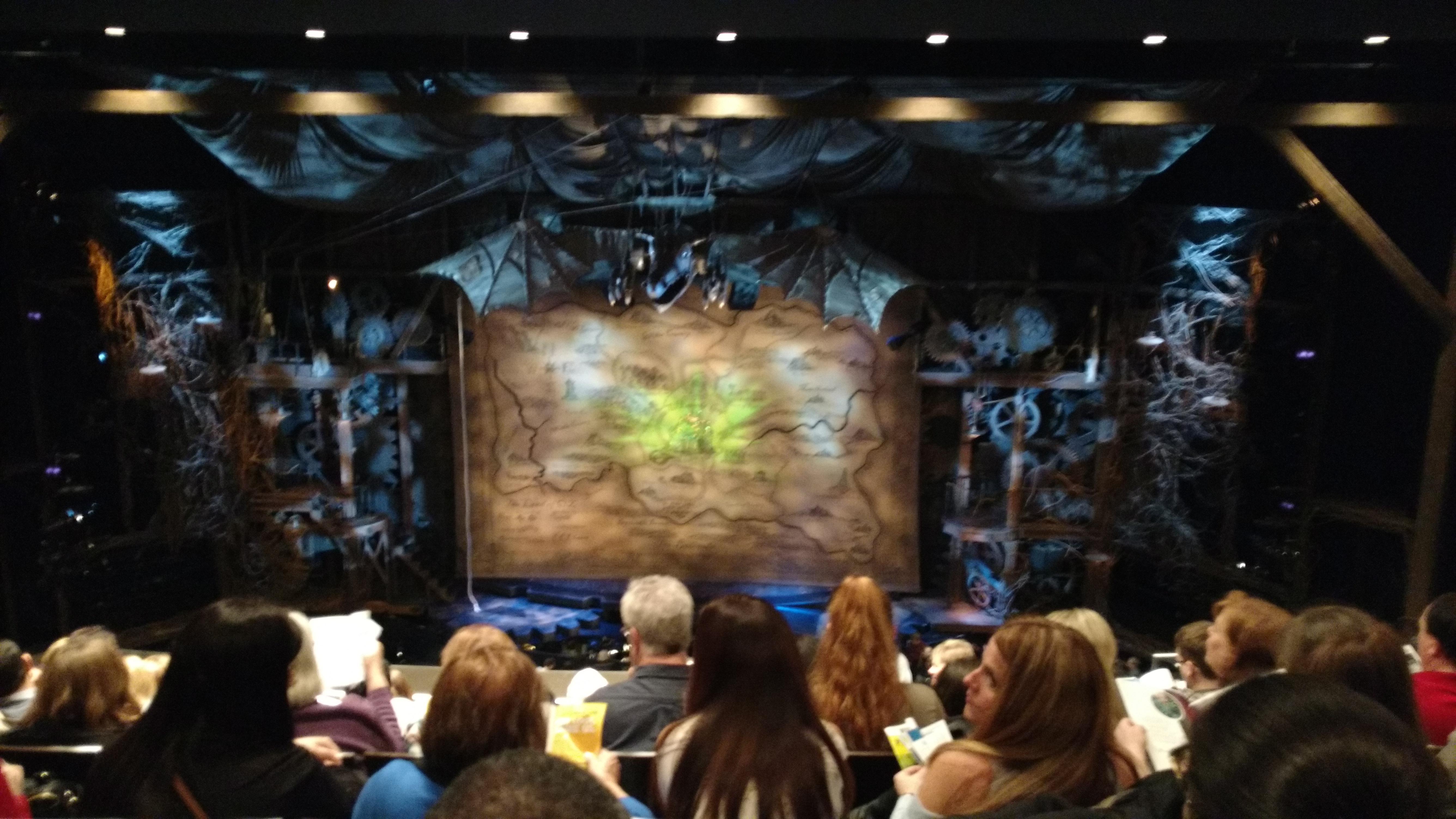Gershwin Theatre Section Rear Mezzanine C Row G Seat 114