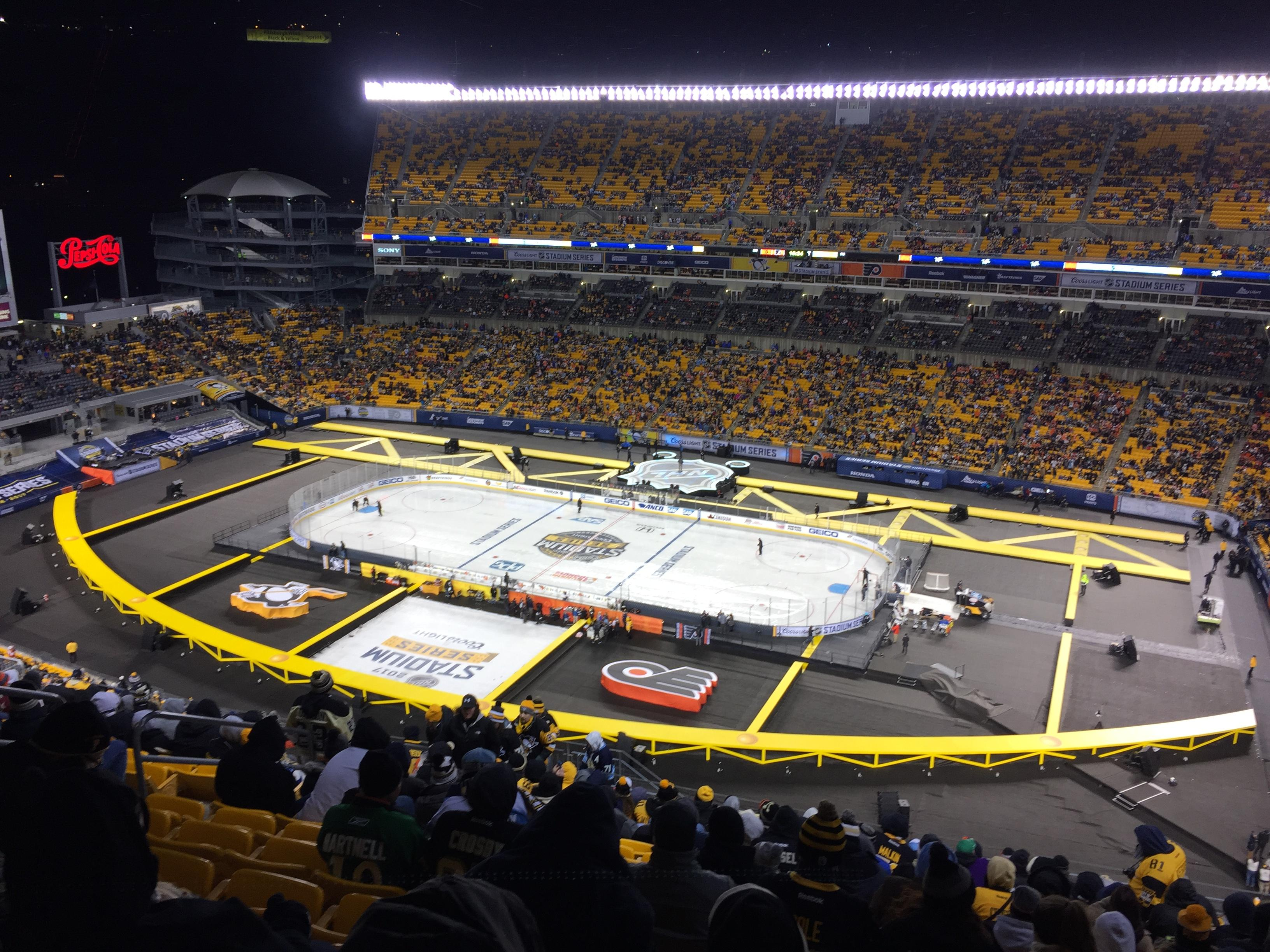 Heinz Field Section 514 Row V Seat 15