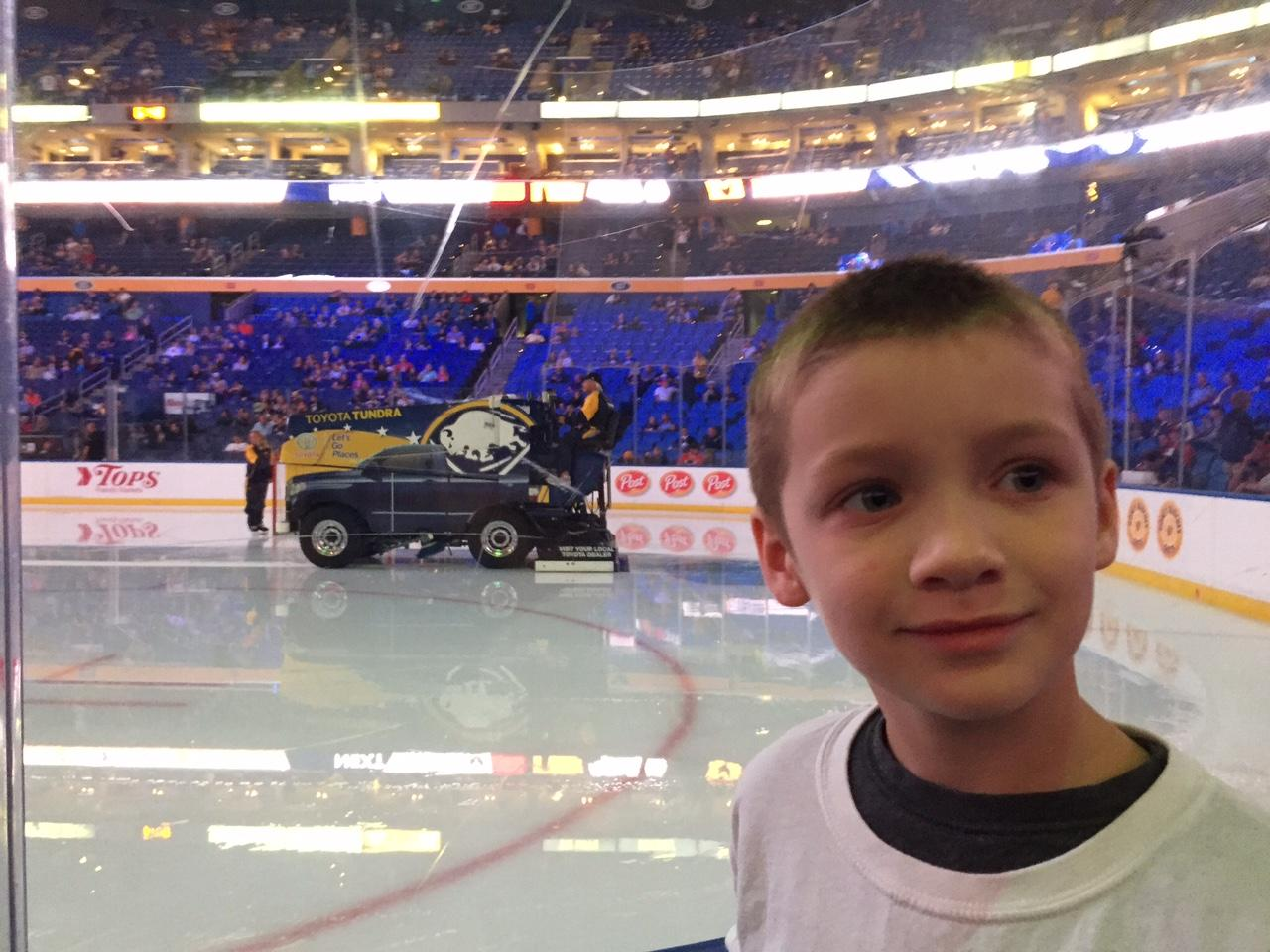 KeyBank Center Section 114 Row 1 Seat 3