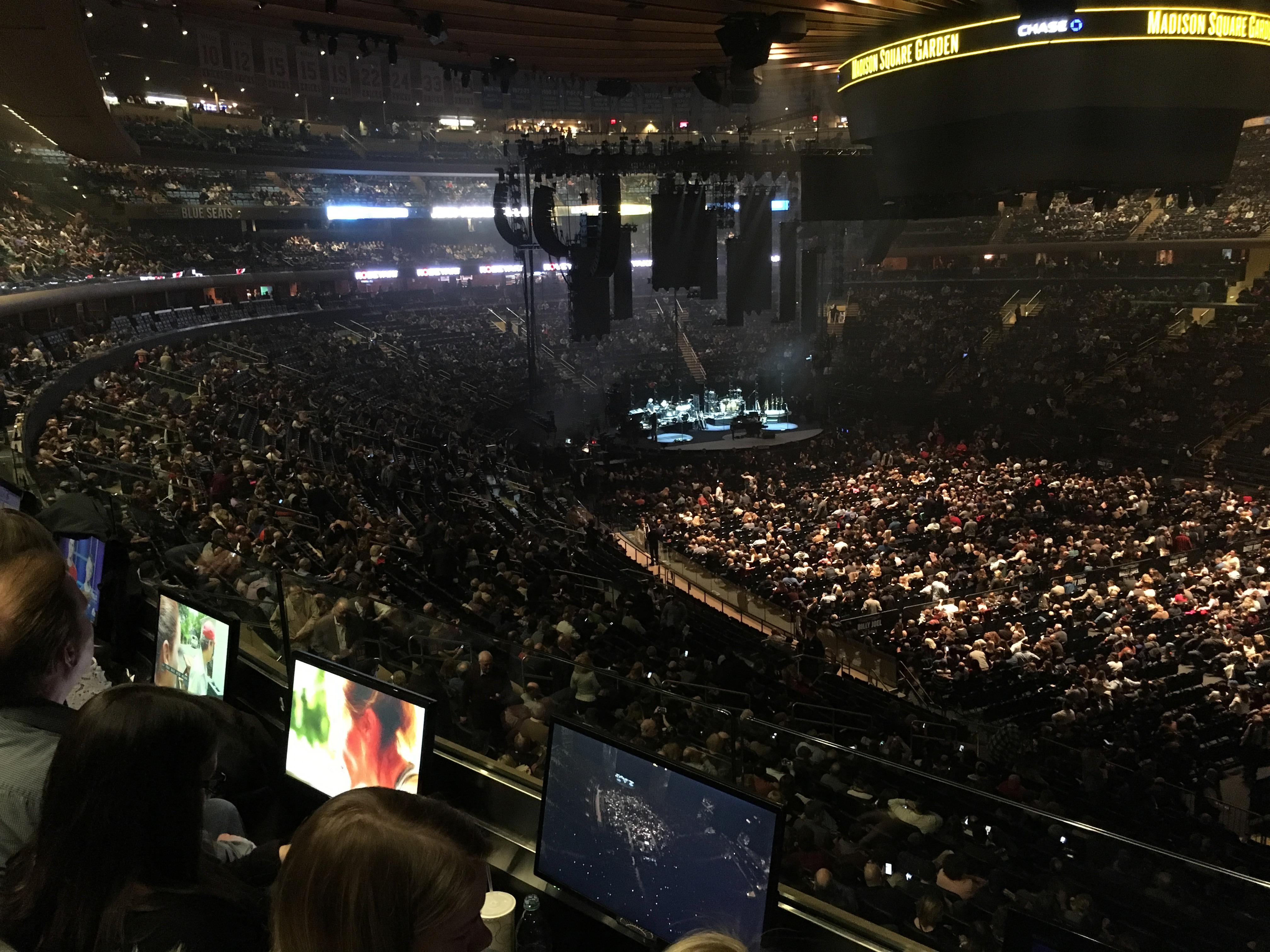 Madison Square Garden Section 227 Row 2 Seat 13