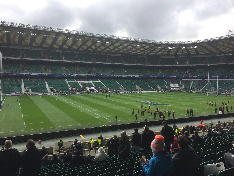 Twickenham Stadium Section East Row L34 Seat 309