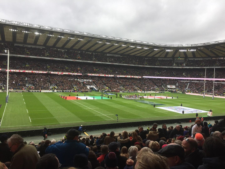 Twickenham Stadium Section East Lower Row L28 Seat 309