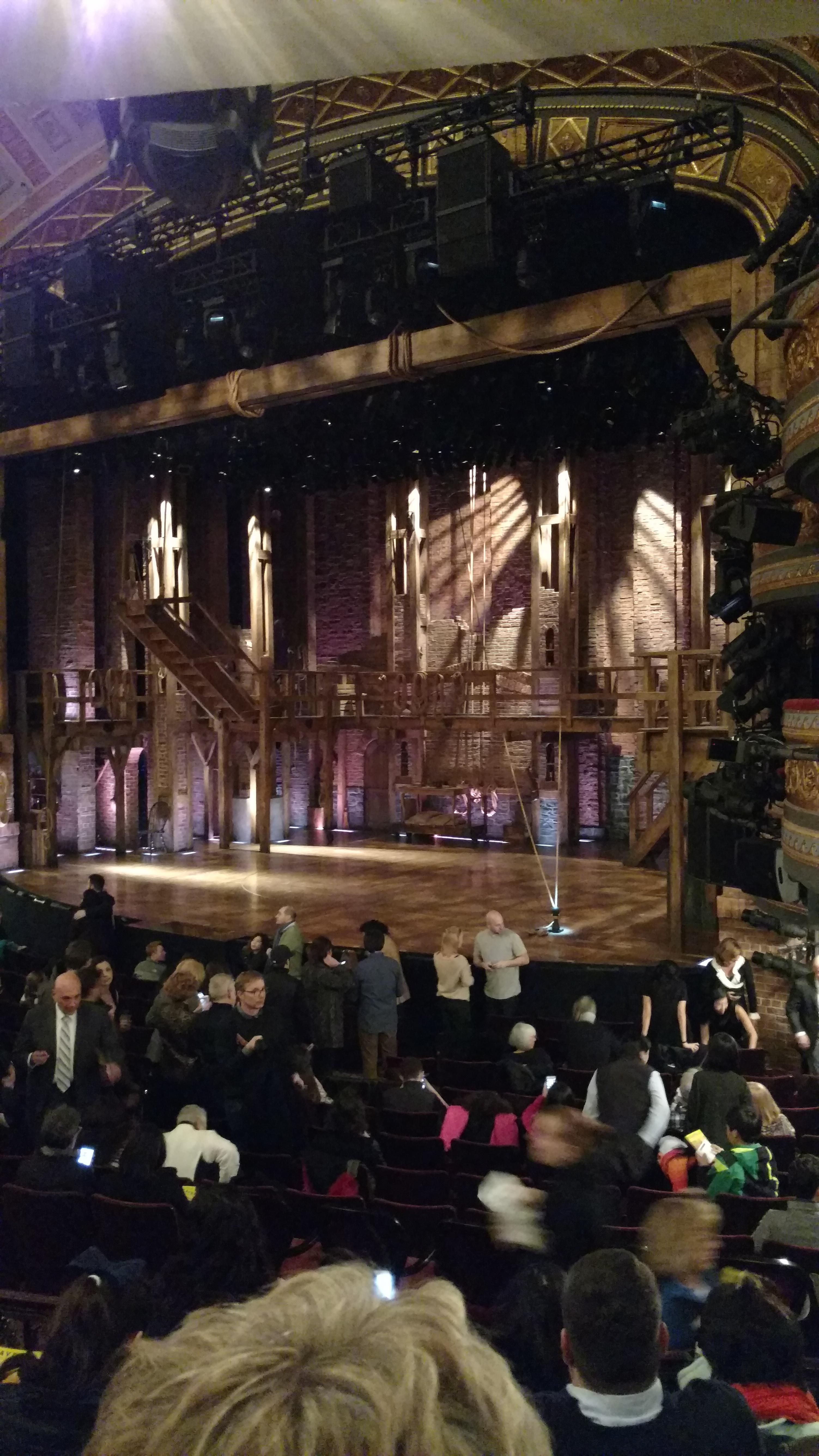 Richard Rodgers Theatre Section Orchestra R Row P Seat 28