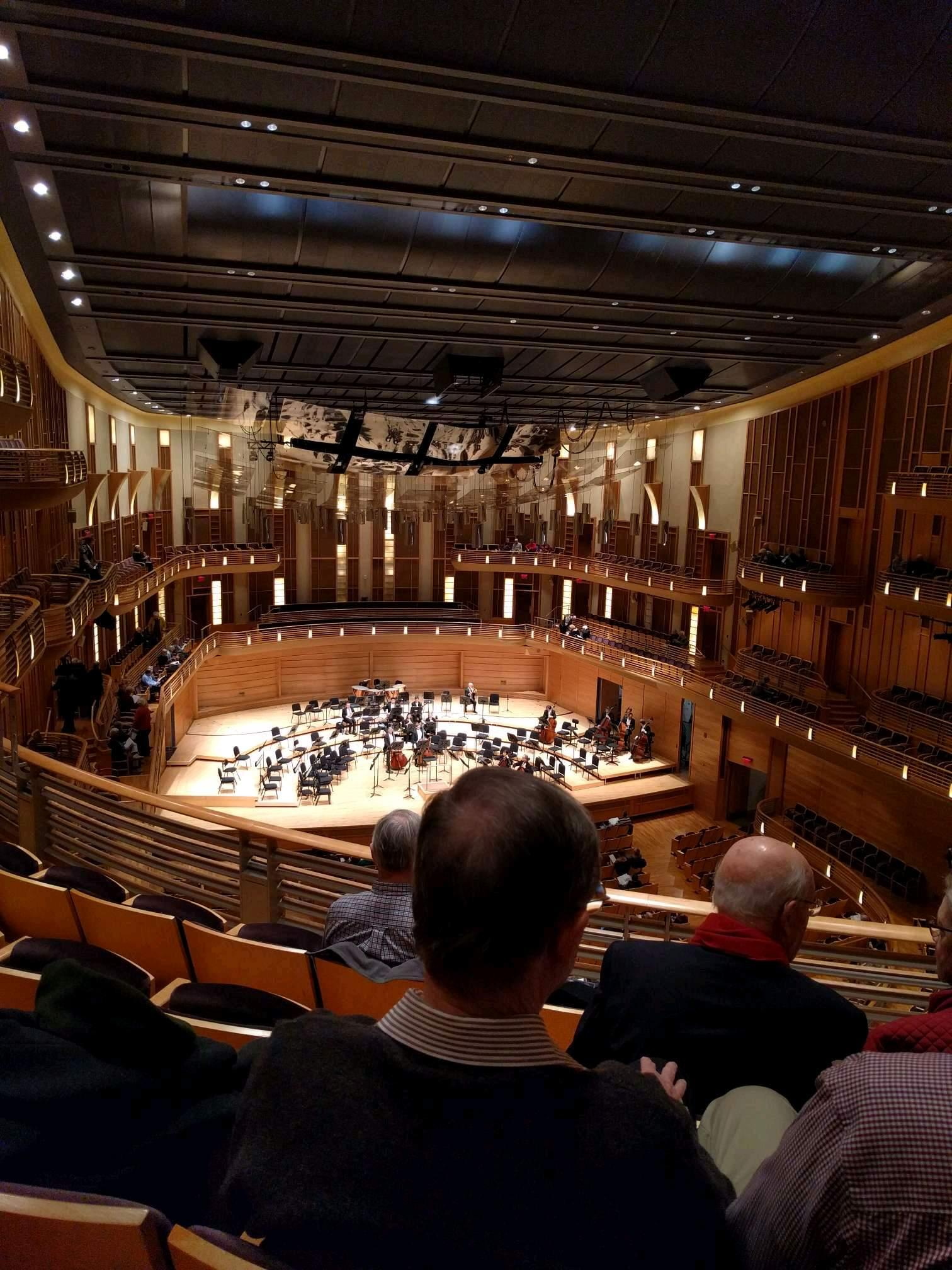 The Music Center at Strathmore Section Grand Tier Left Row D Seat 3