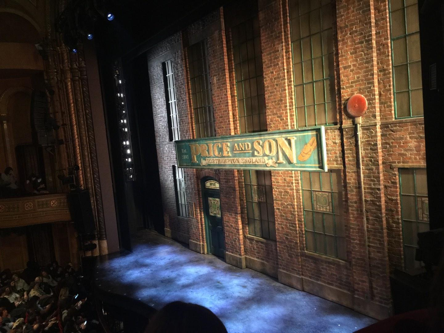 Al Hirschfeld Theatre Section RBOX Row D Seat 10