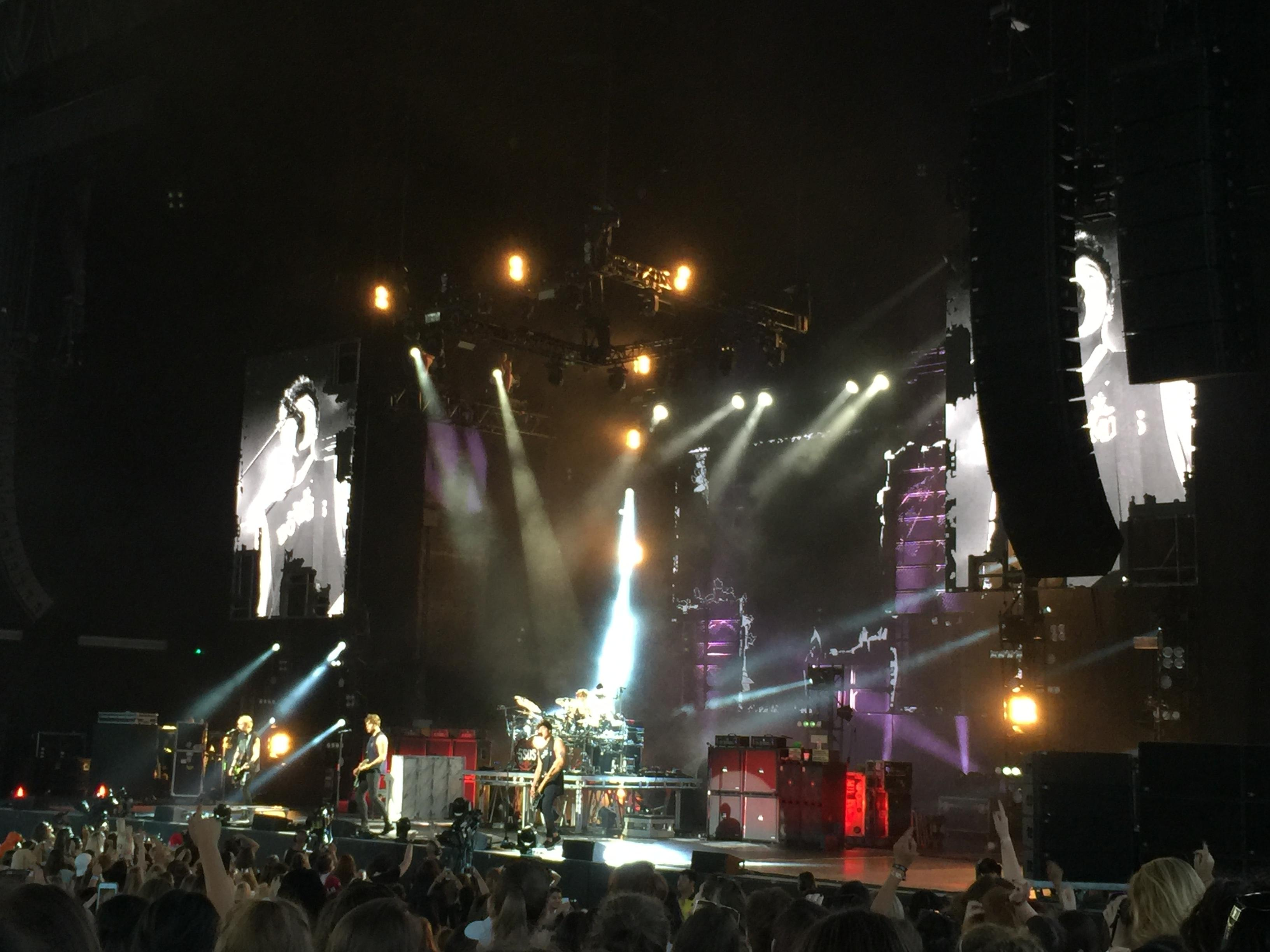 Budweiser Stage Section 201 Row M