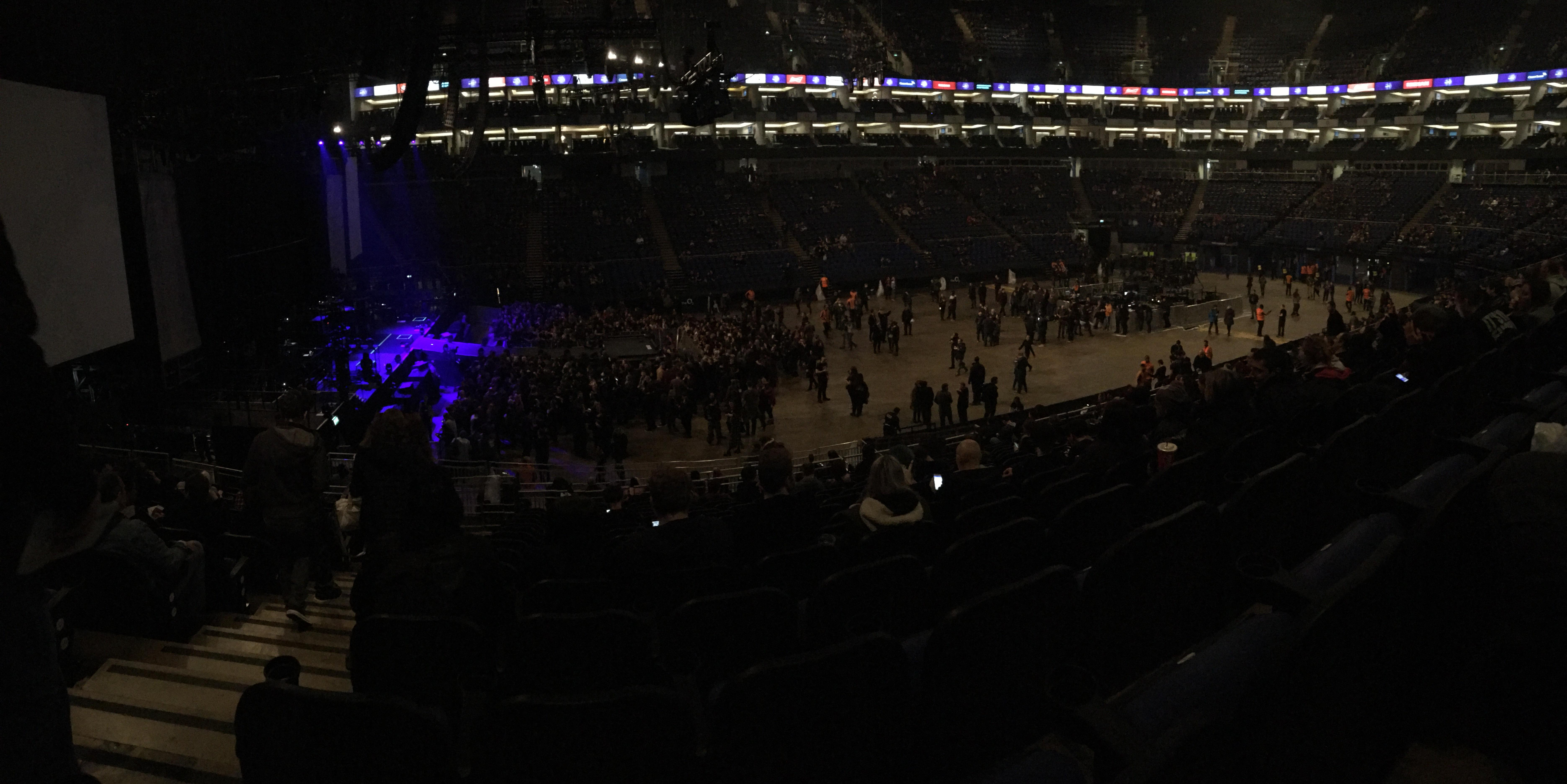 The O2 Arena Section 101 Row X Seat 31