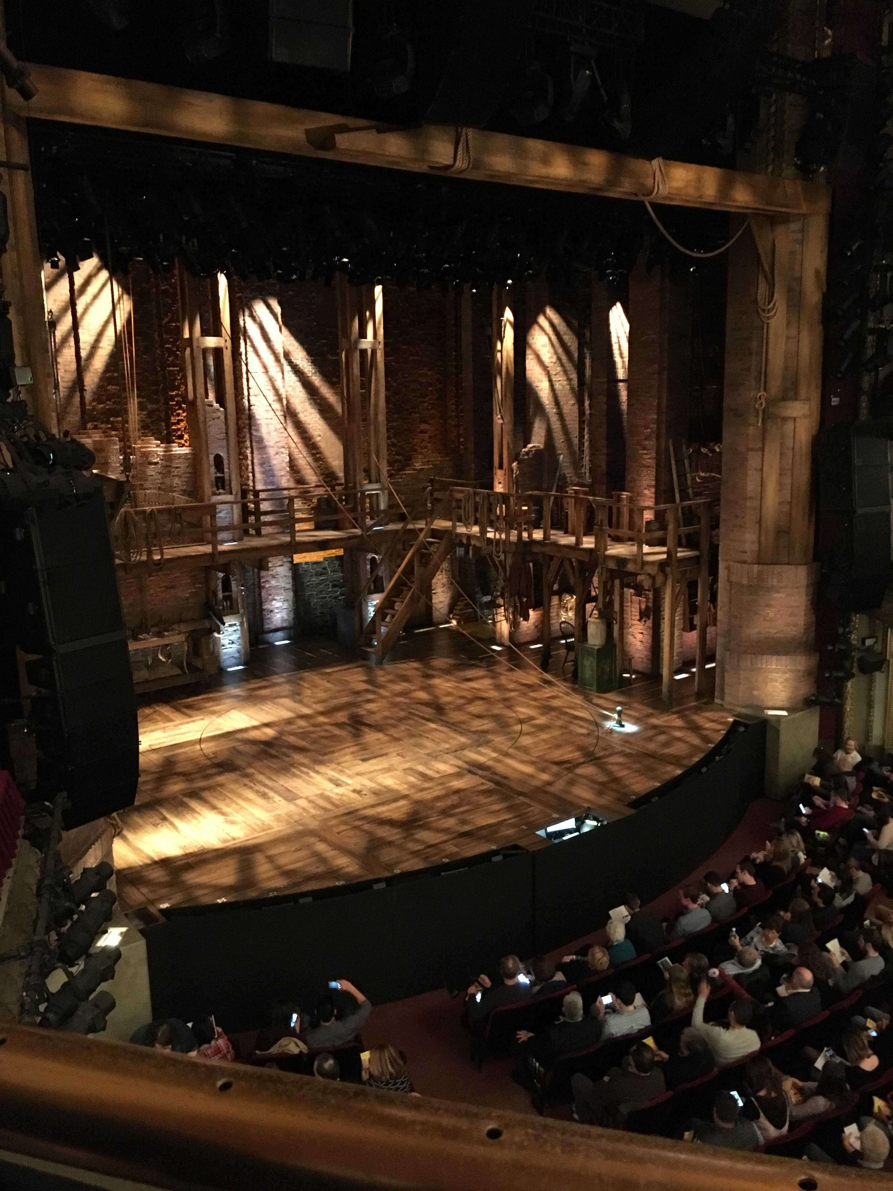 CIBC Theatre Section Mezzanine L Row A Seat 11