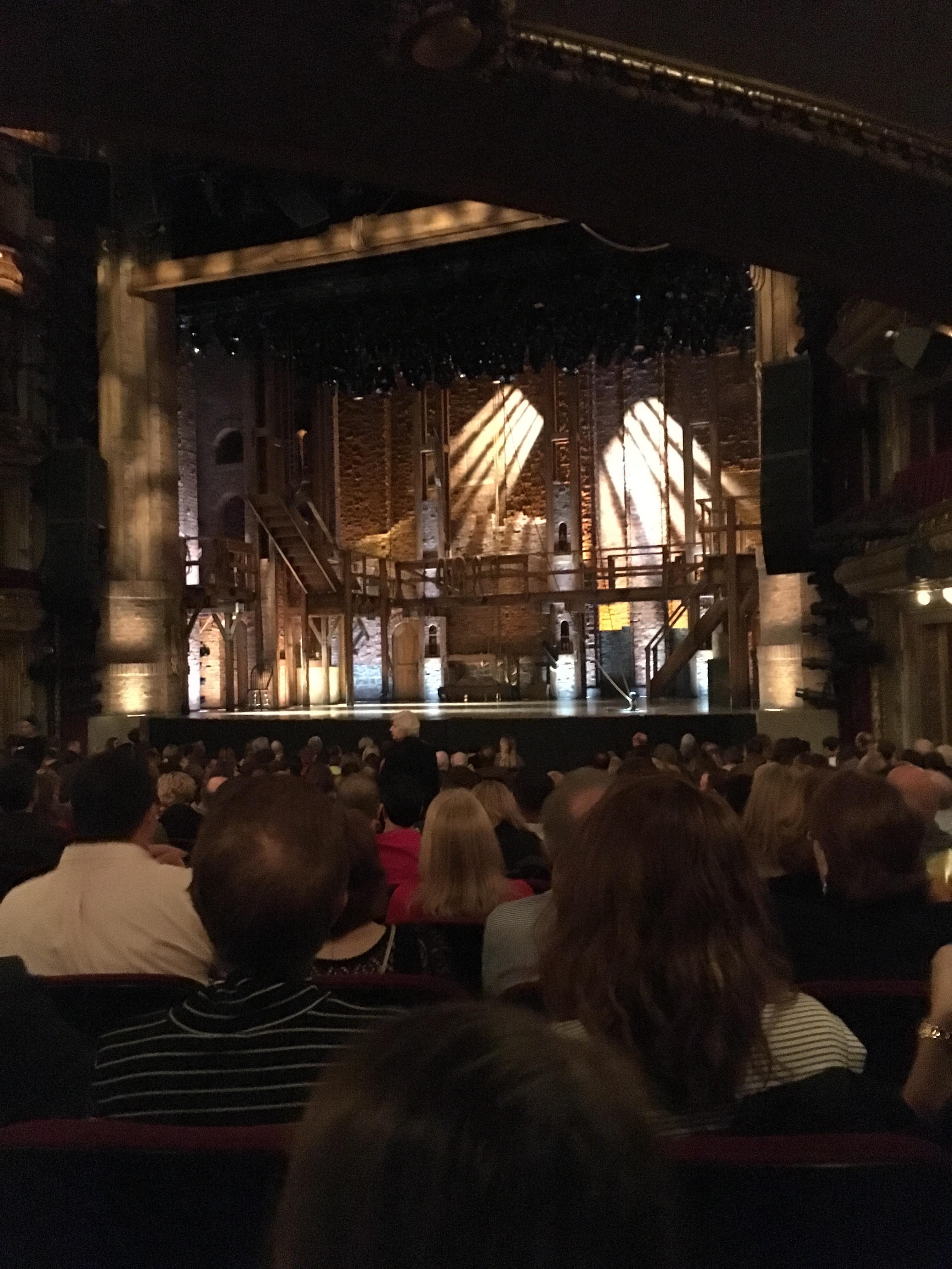 CIBC Theatre Section Orchestra R Row U Seat 2,4