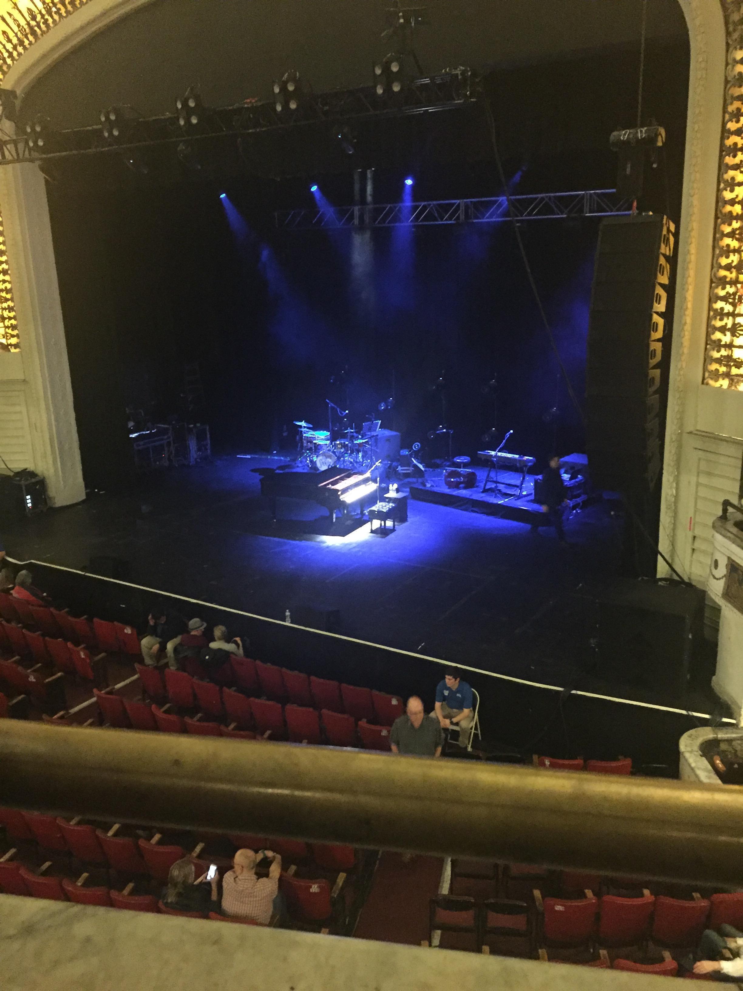 Orpheum Theatre (Boston) Section Mezzanine Row A Seat 4