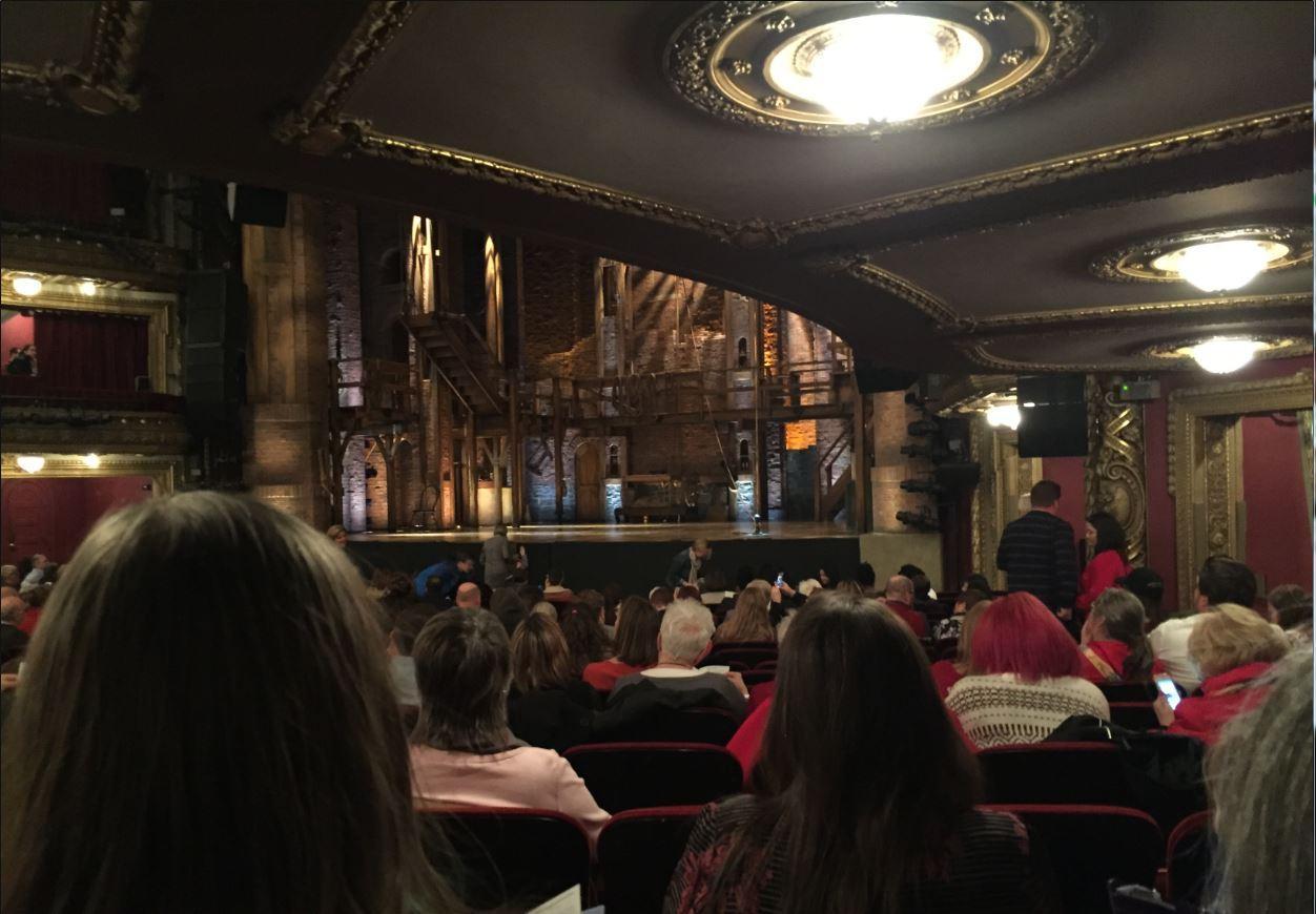 CIBC Theatre Section Orchestra R Row U Seat 16
