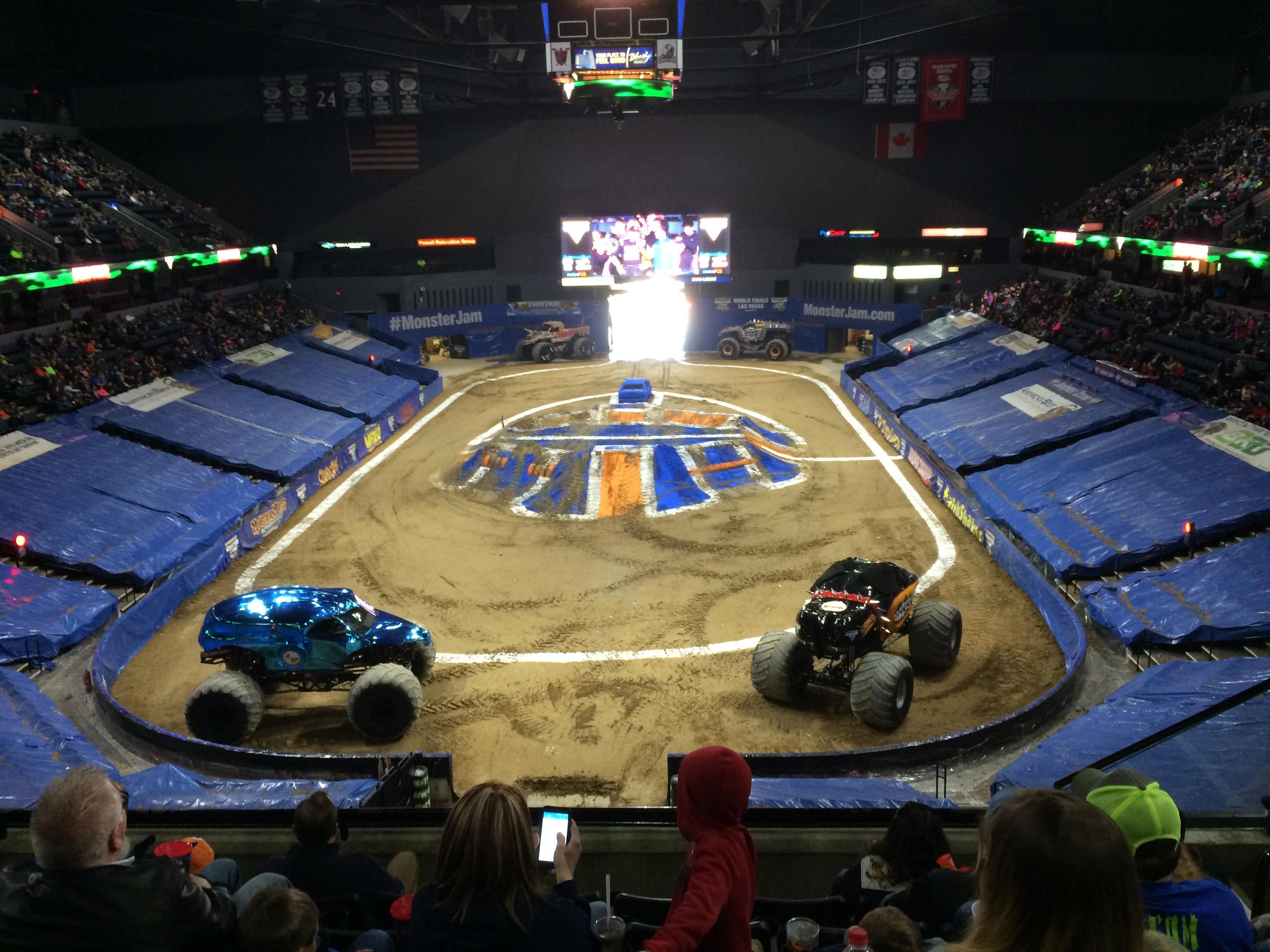Van Andel Arena Section 201 Row F