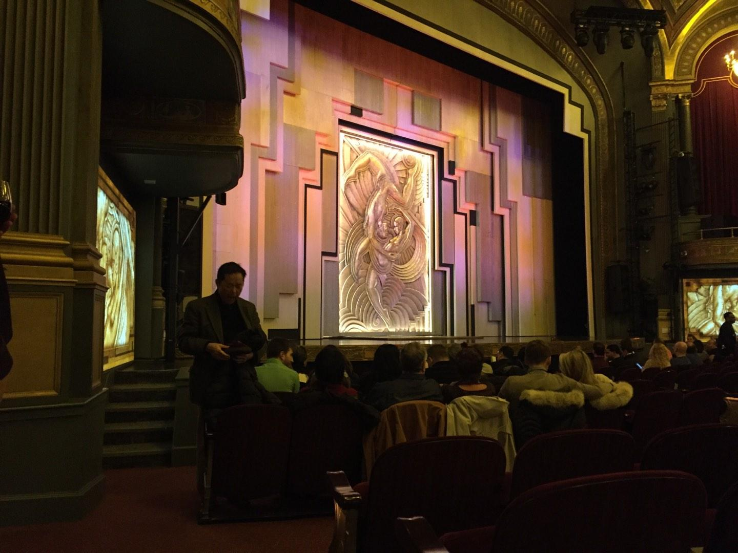 Lyric Theatre Section Orch Row L Seat 27