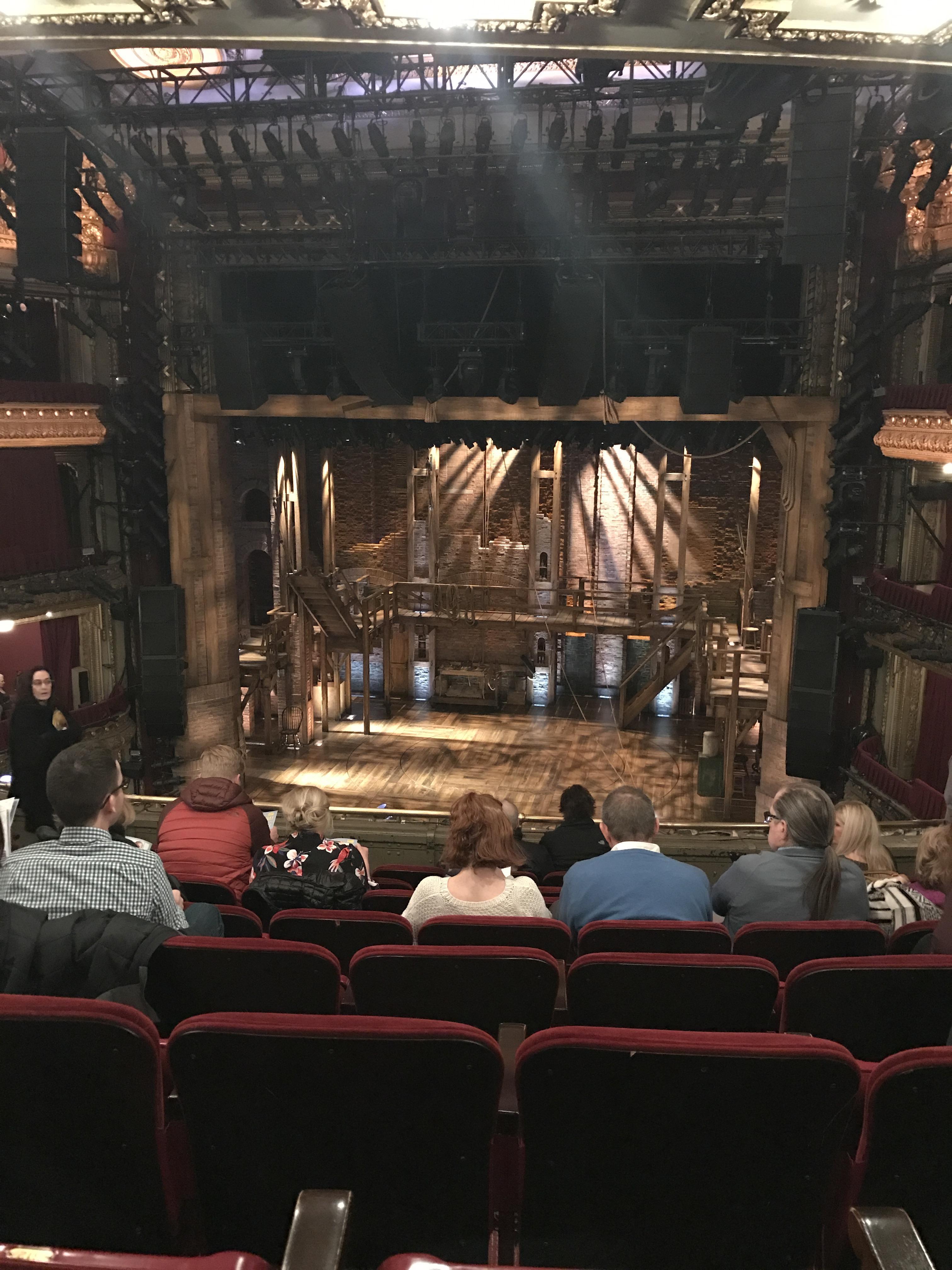 CIBC Theatre Section Mezzanine RC Row H Seat 314