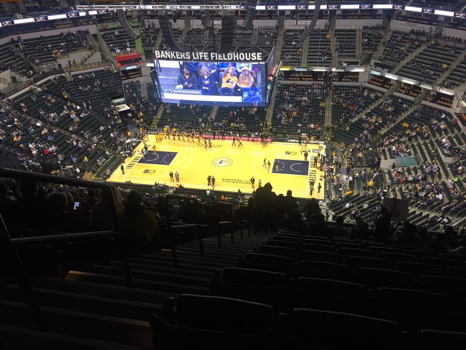 Bankers Life Fieldhouse Section 223 Row 22 Seat 16