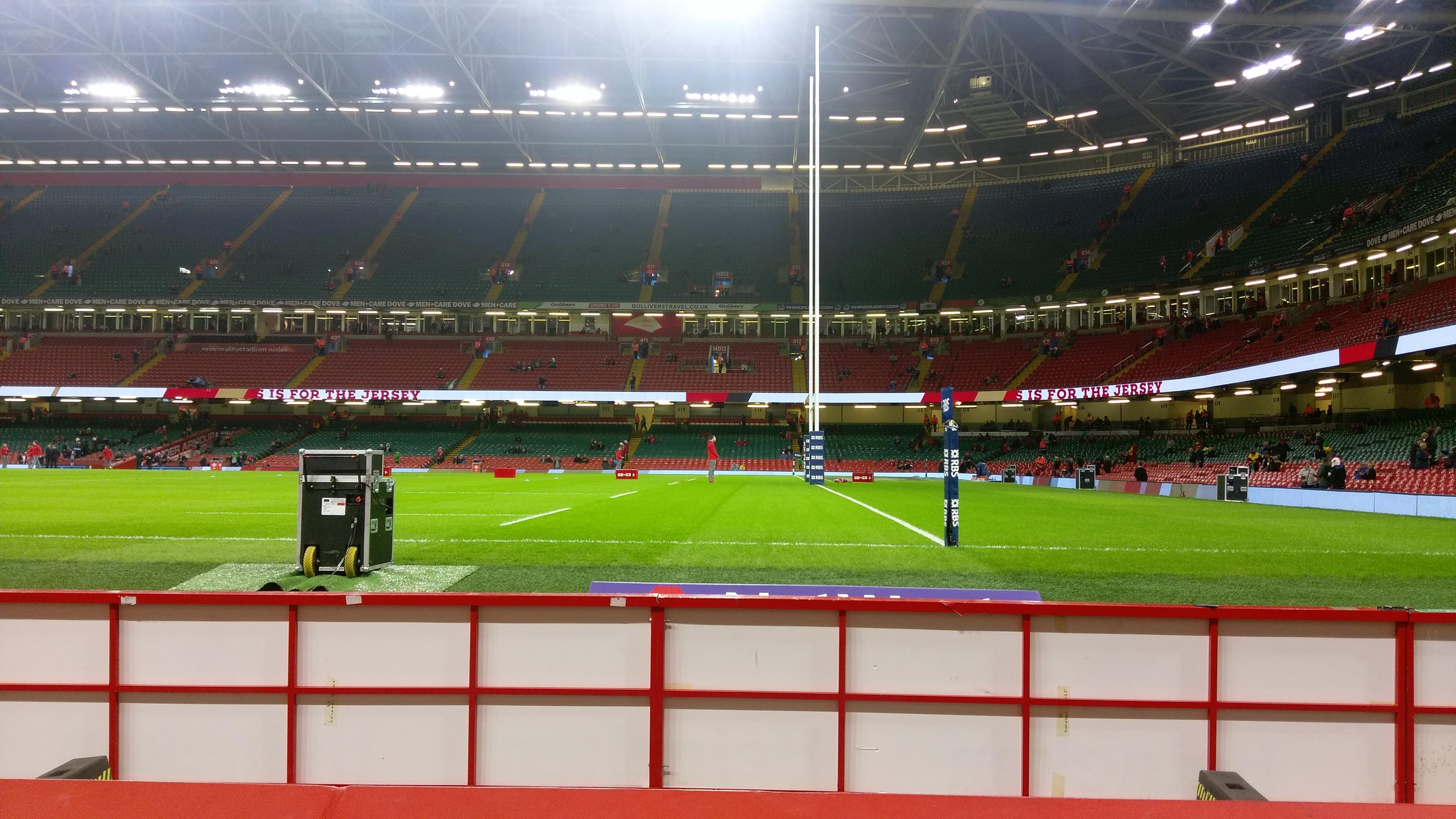 Principality Stadium Section L28 Row 3 Seat 24