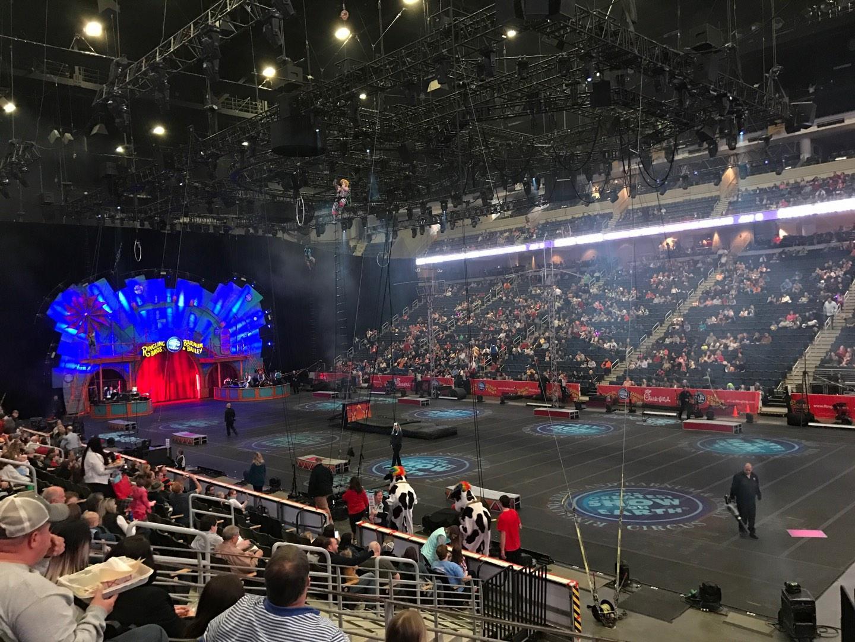 Infinite Energy Arena Section 121 Row N