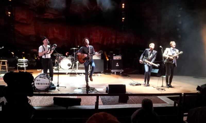 Red Rocks Amphitheatre Row 2 Seat 46