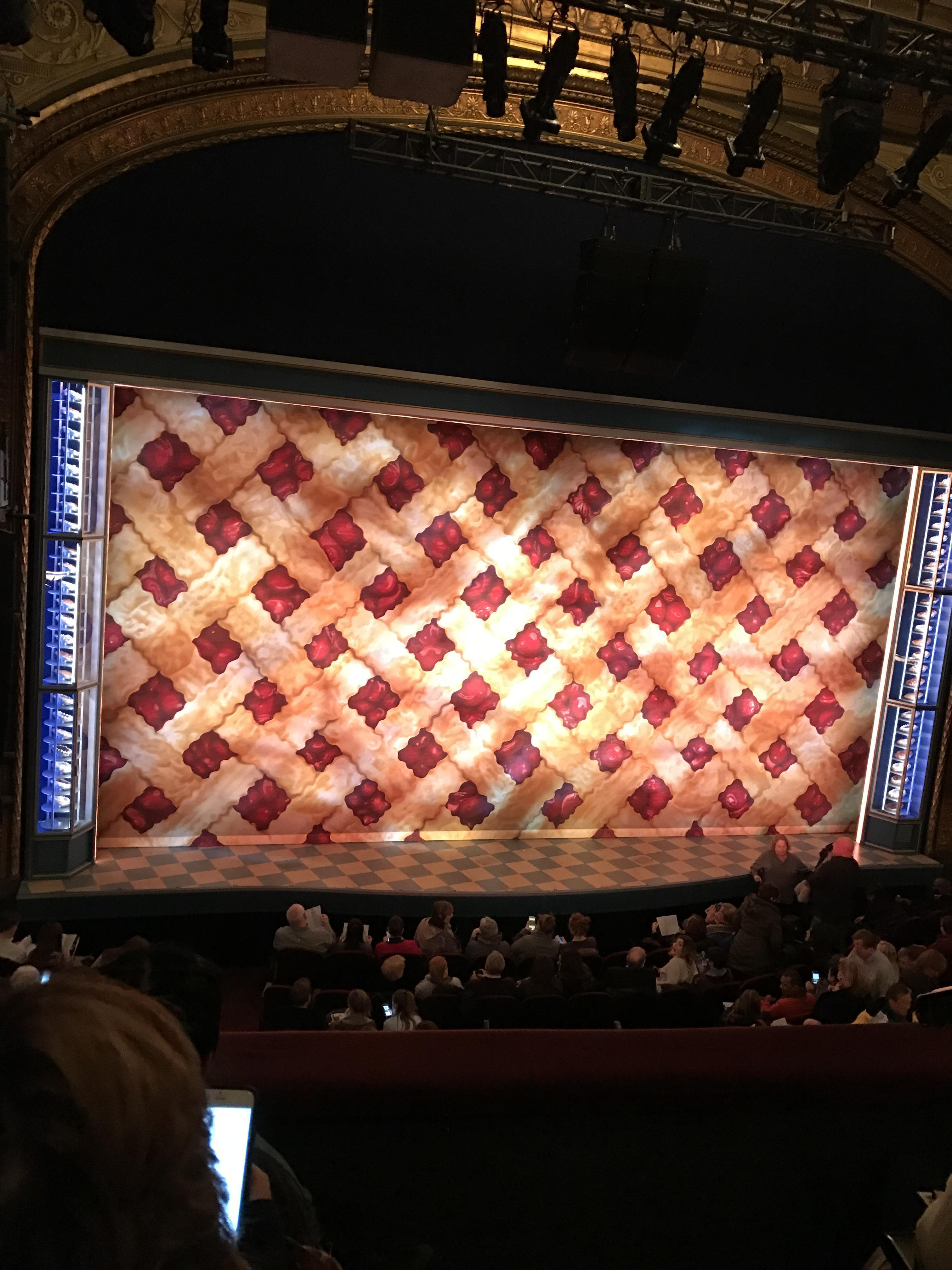 Brooks Atkinson Theatre Section Front Mezzanine L Row C Seat 1