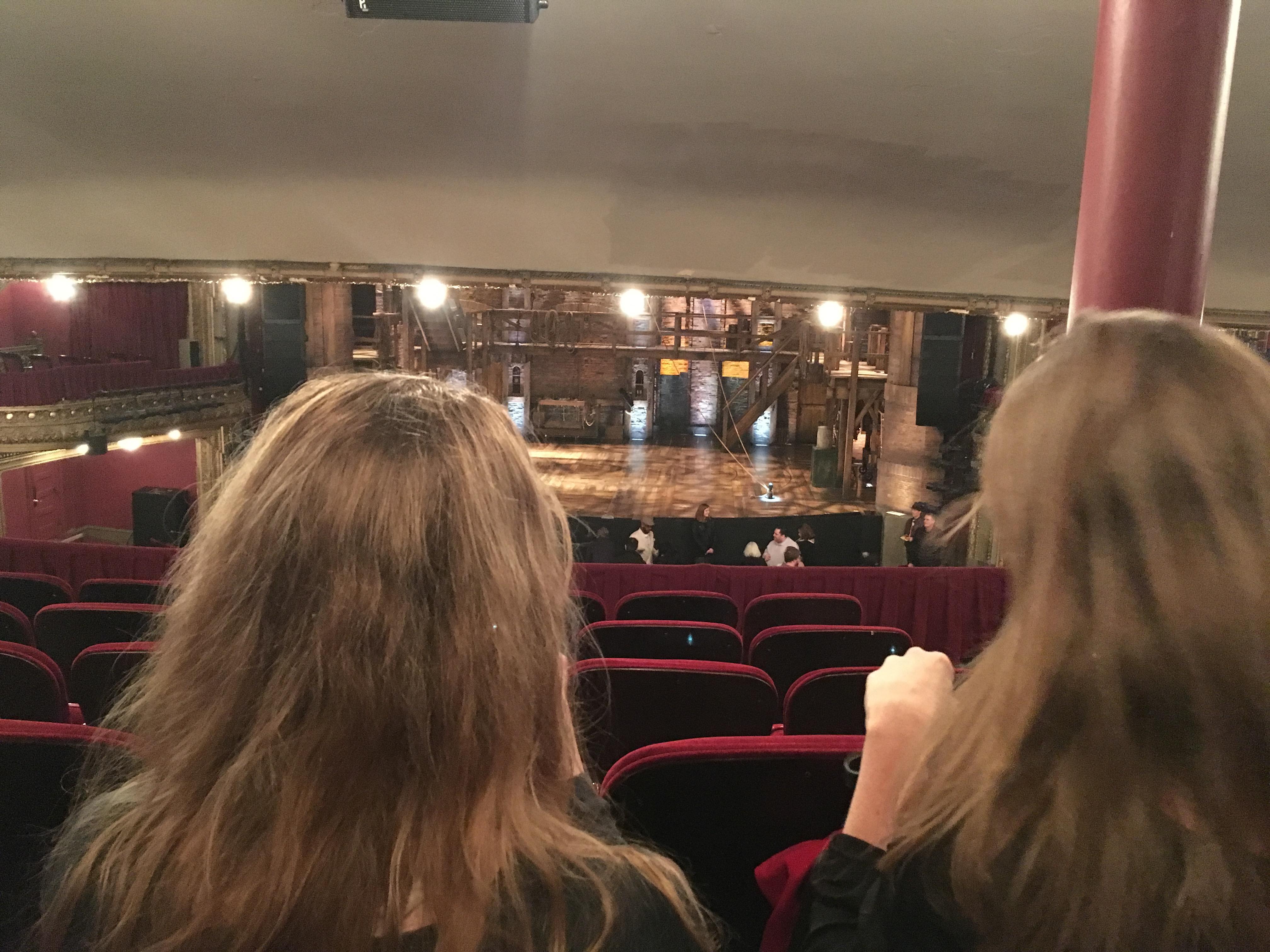 CIBC Theatre Section Dress circle c Row F Seat 209