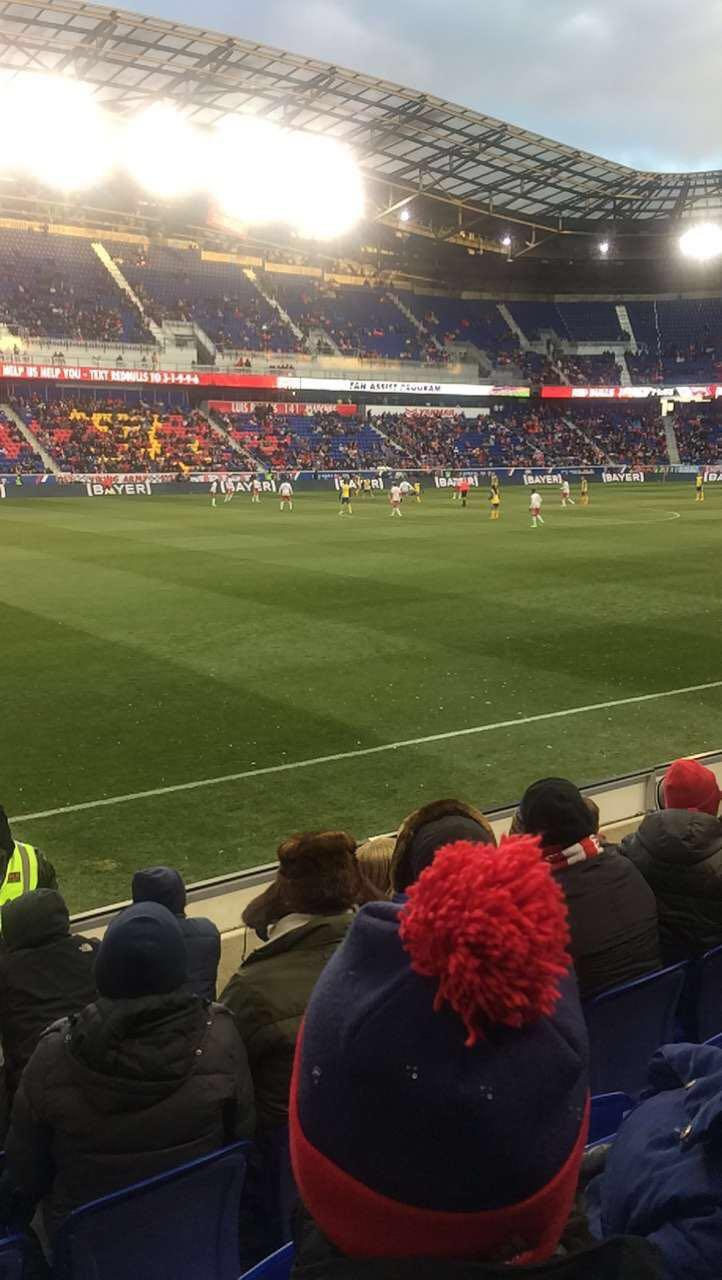 Red Bull Arena (New Jersey) Section 111 Row 4 Seat 22