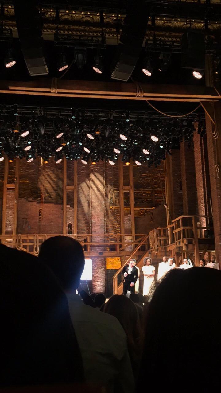 CIBC Theatre Section Orchestra C Row Q Seat 105
