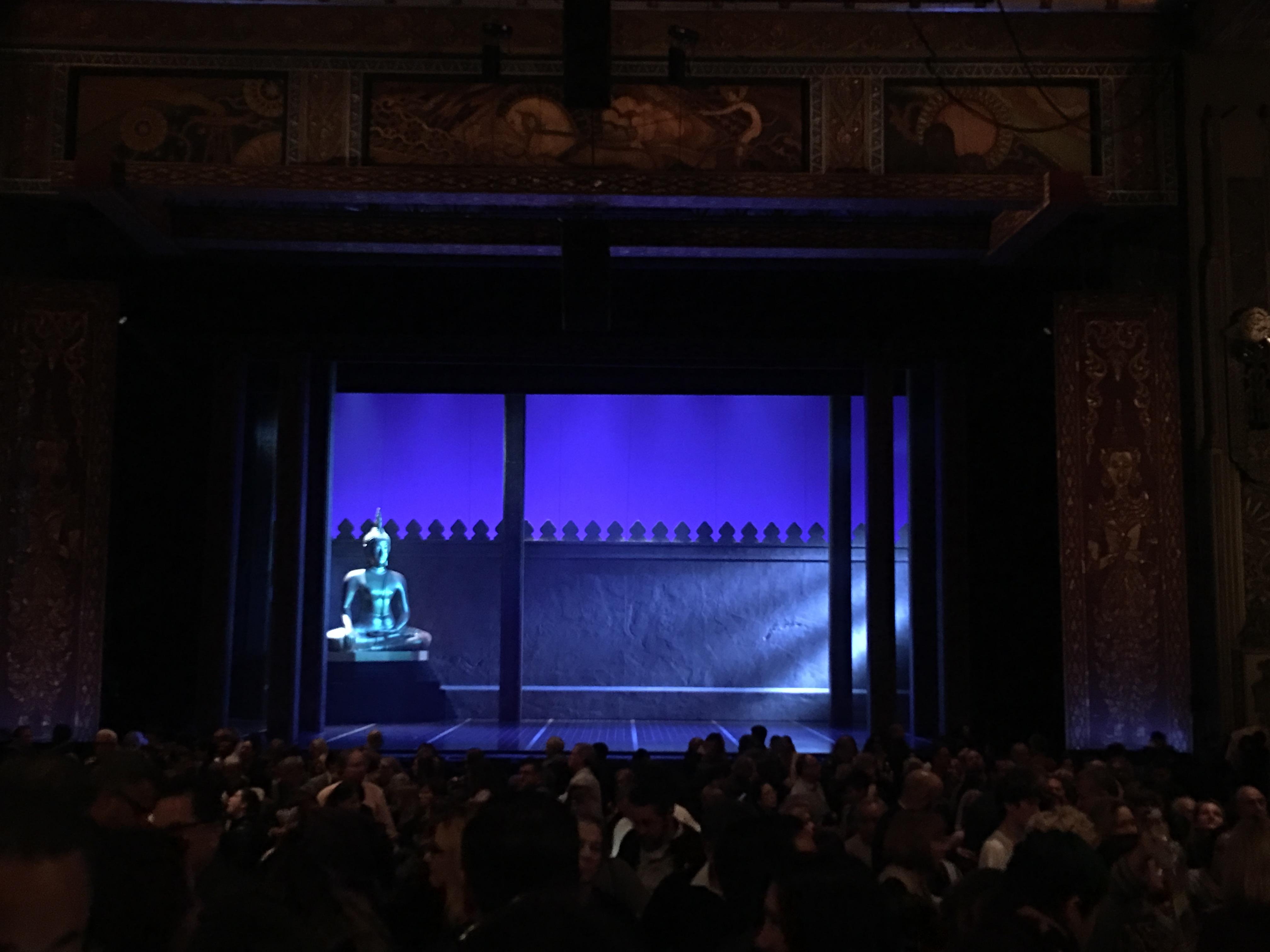 Hollywood Pantages Theatre Section Orchestra C Row NN Seat 106