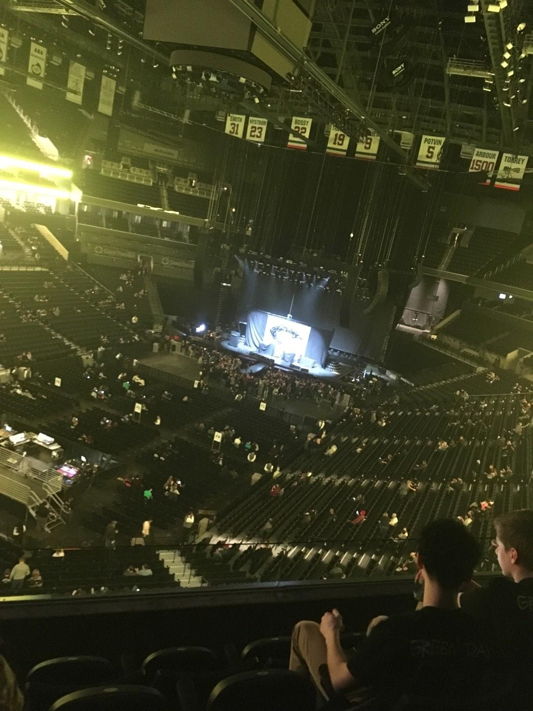 Barclays Center Section 213 Row 4 Seat 11